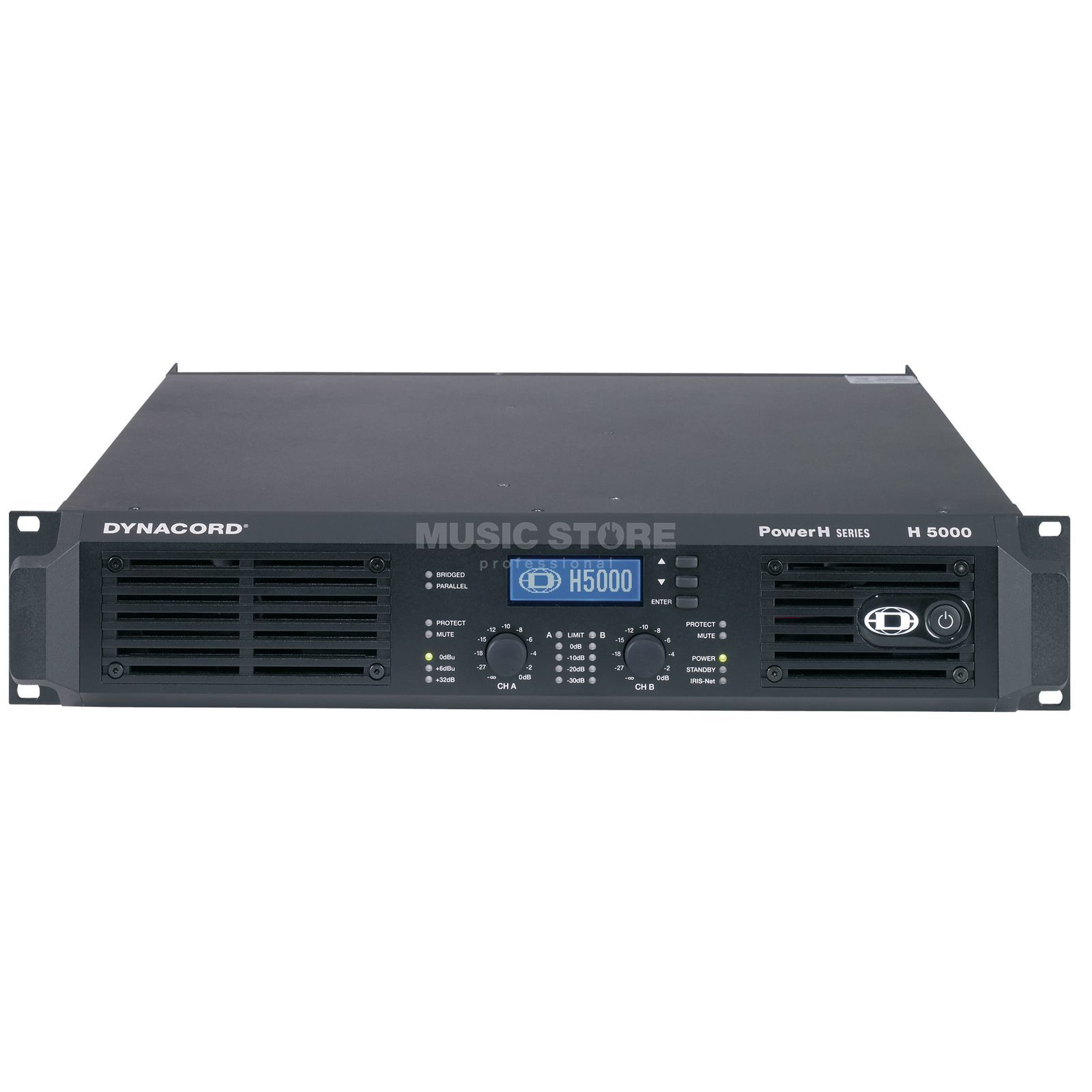 Dynacord H 5000 2x - 2500 Watt / 4 Ohm Amplifier Produktbillede