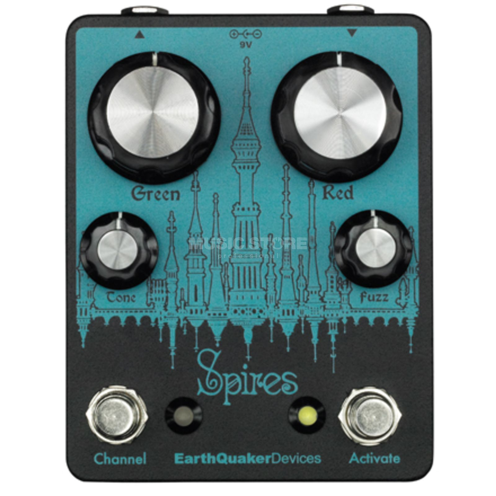 Earthquaker Devices Spires Nu Face Double Fuzz Produktbild