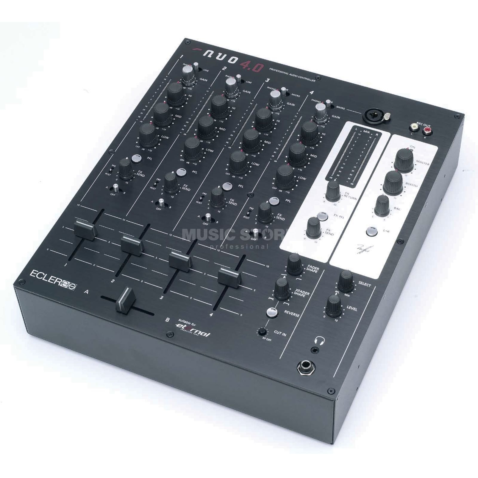 Ecler NUO 4.0 individual item 4-Channel DJ-Mixer Product Image