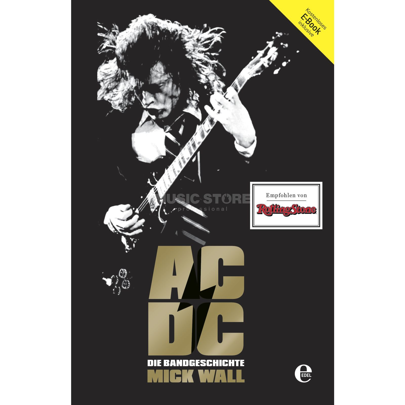 Edel Books AC/DC: Hell Ain't A Bad Place Mick Wall, Biografie Produktbillede