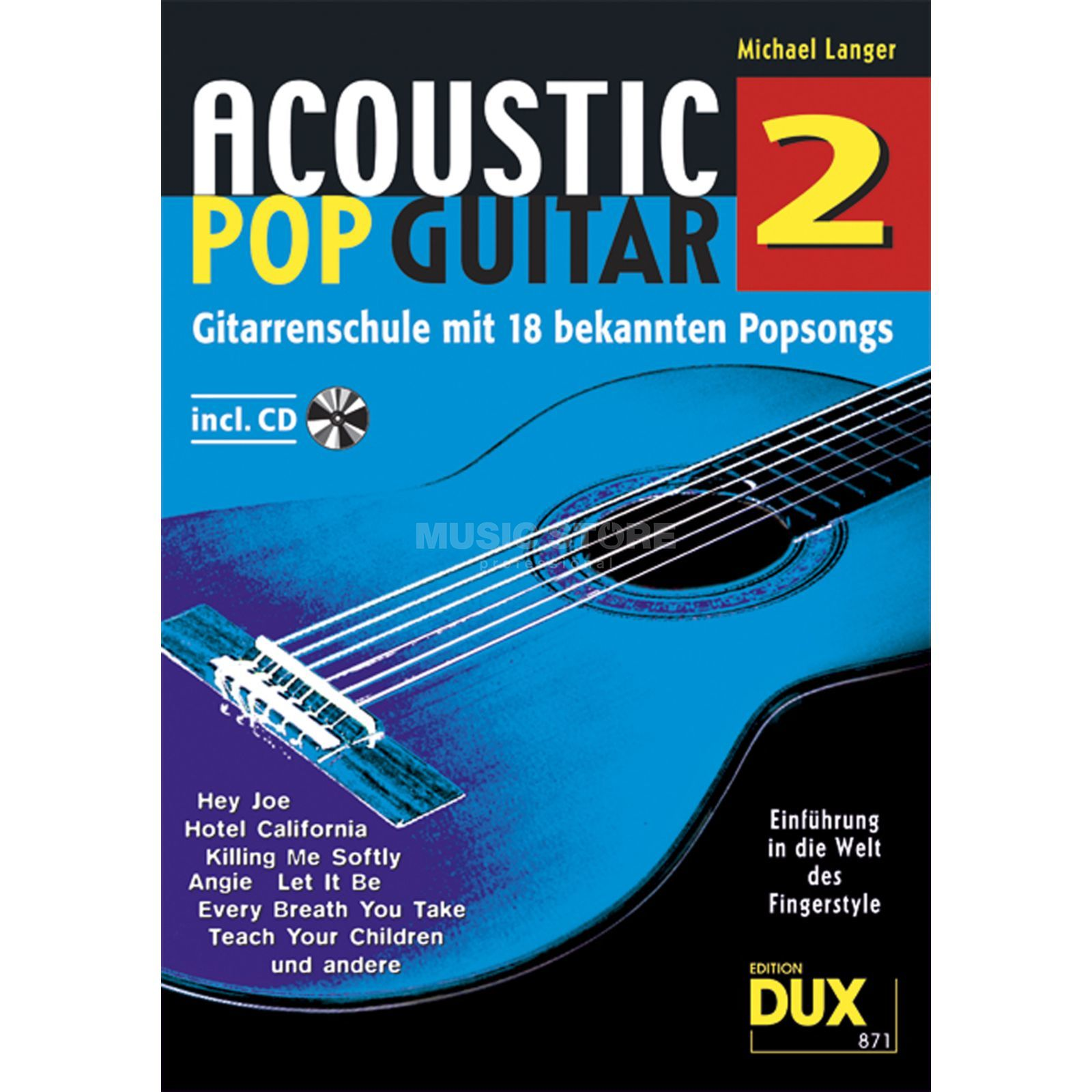 Edition Dux Acoustic Pop Guitar Band 2 Gitarrenschule Produktbild