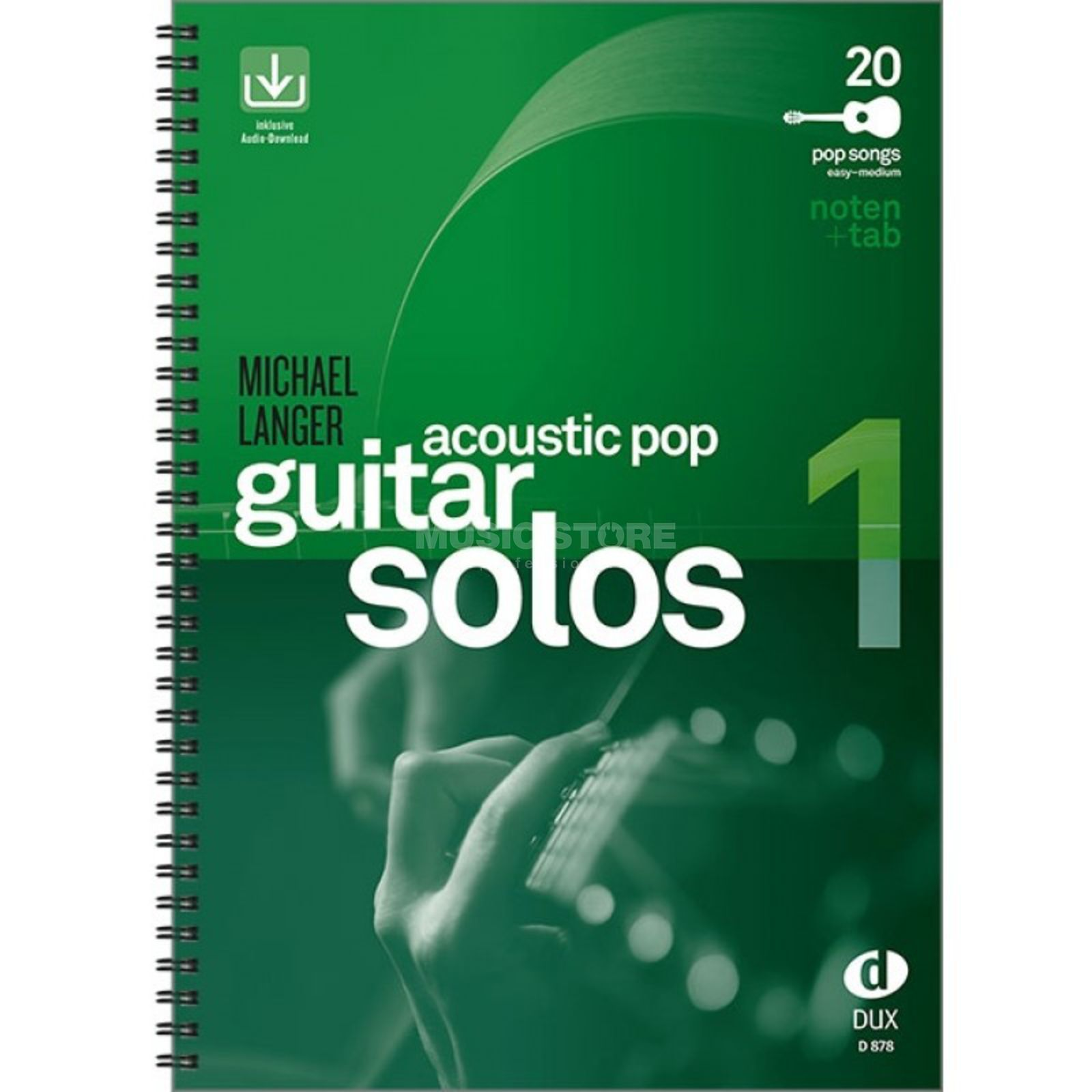 Edition Dux Acoustic Pop Guitar Solos 1 Produktbillede