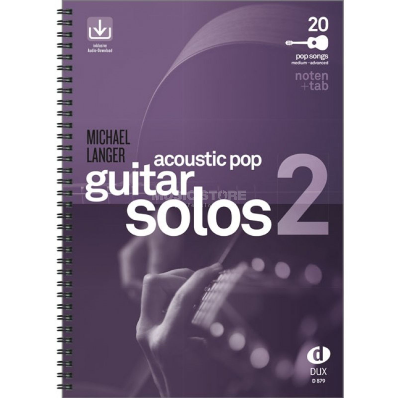 Edition Dux Acoustic Pop Guitar Solos 2  Produktbild