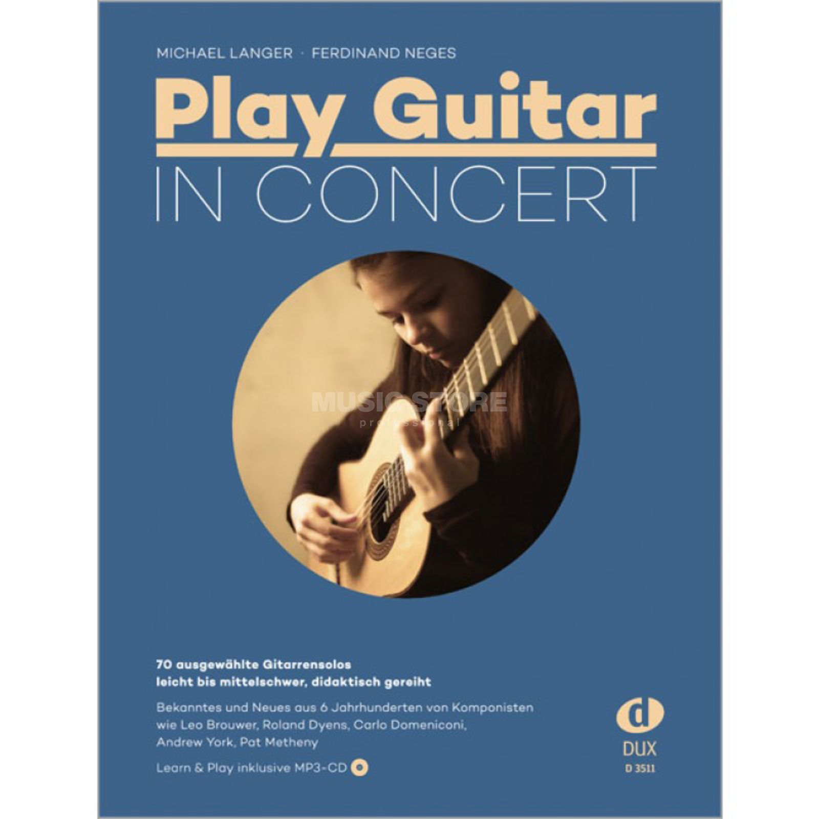 Edition Dux Play Guitar In Concert - Michael Langer, Ferdinand Neges Produktbild