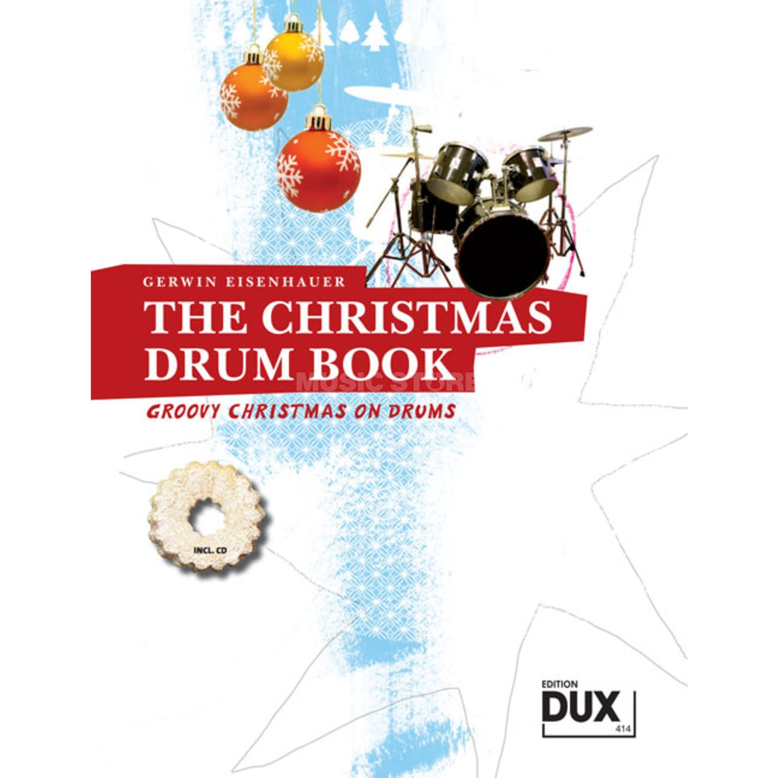Edition Dux The Christmas Drum Book Eisenhauer, Schlagzeug Produktbillede