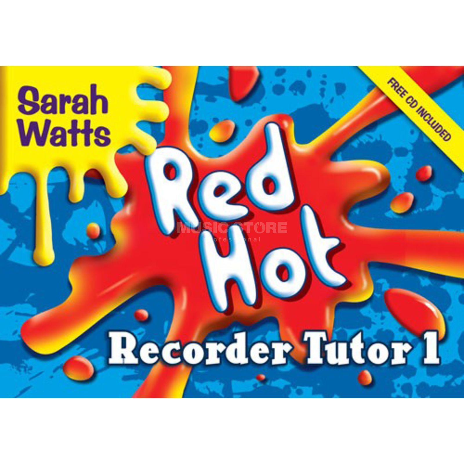 Edition Kevin Mayhew Red Hot Recorder Tutor 1 Descant Student, incl CD Produktbild
