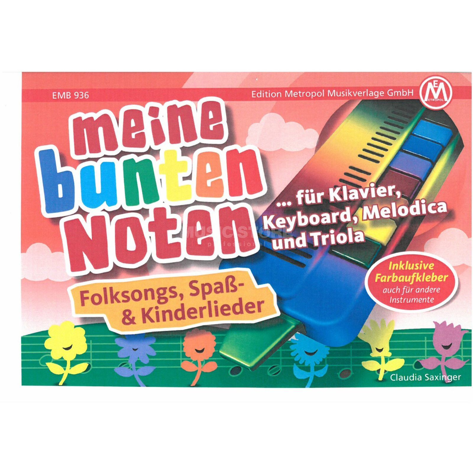 Edition Metropol Meine bunten Noten Folksongs, Melodica/Triola Product Image