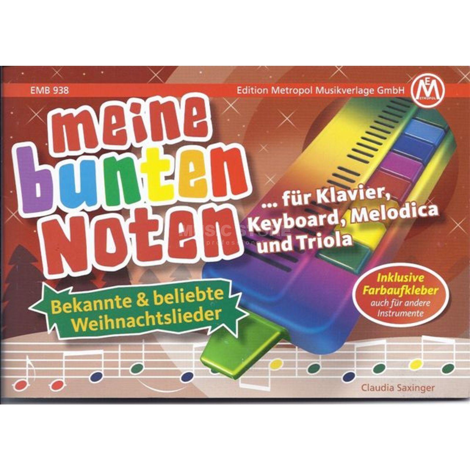 Edition Metropol Meine bunten Noten - Weihnachtslieder