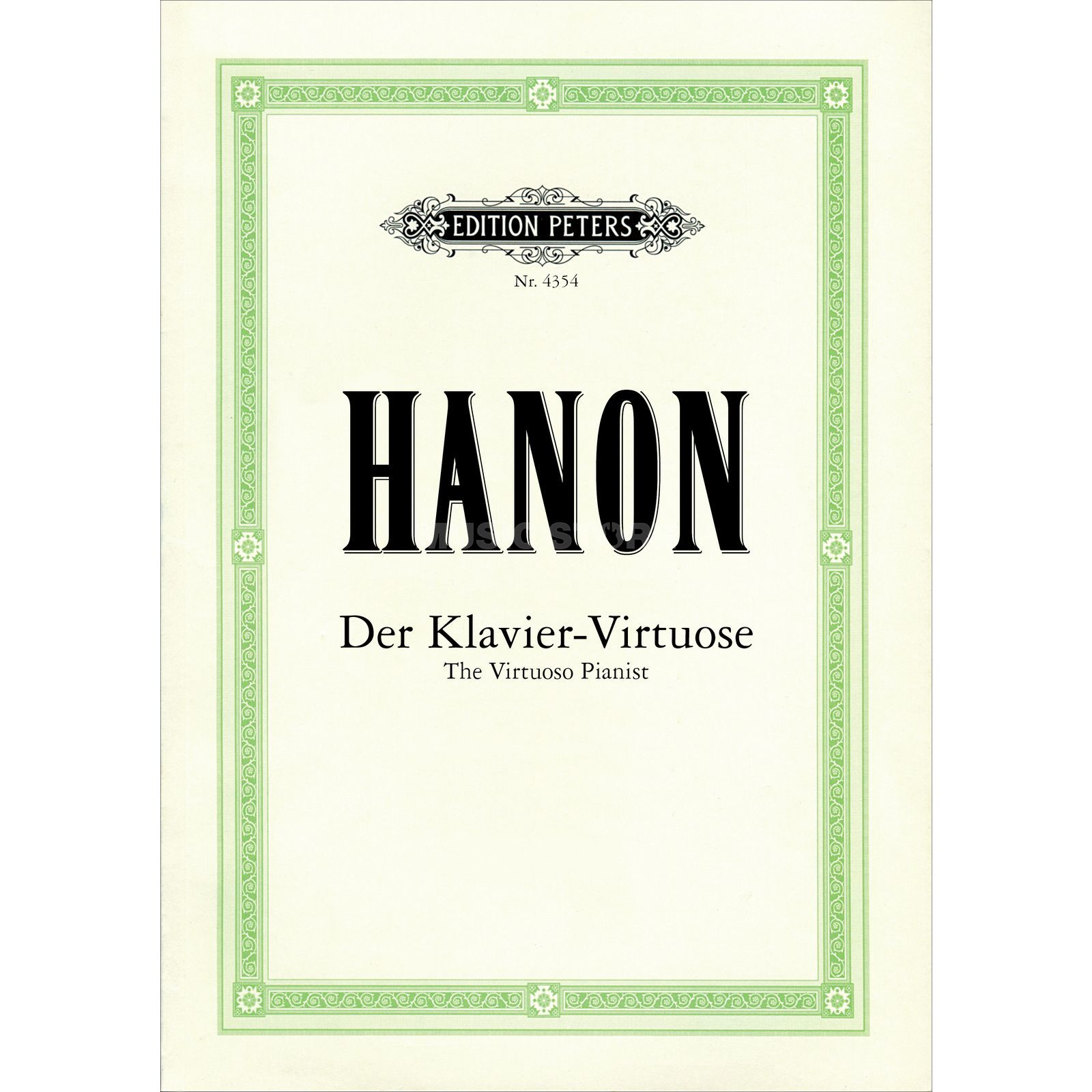 Edition Peters Hanon: Der Klavier-Virtuose  Produktbild