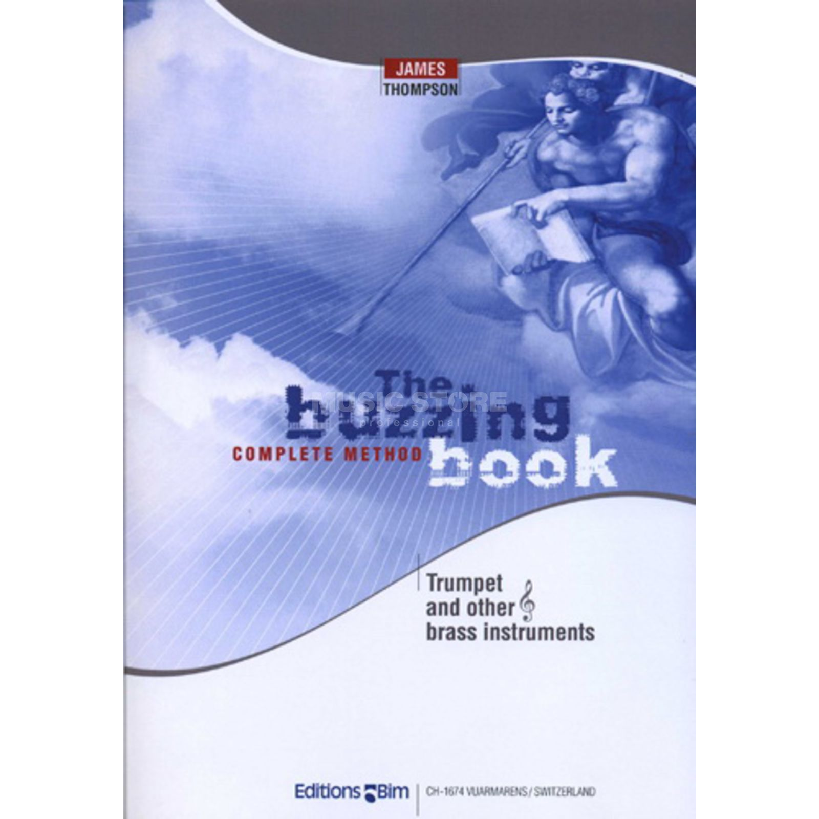 Editions Bim The Buzzing Book complete Thompson, Trompete, Buch Produktbillede