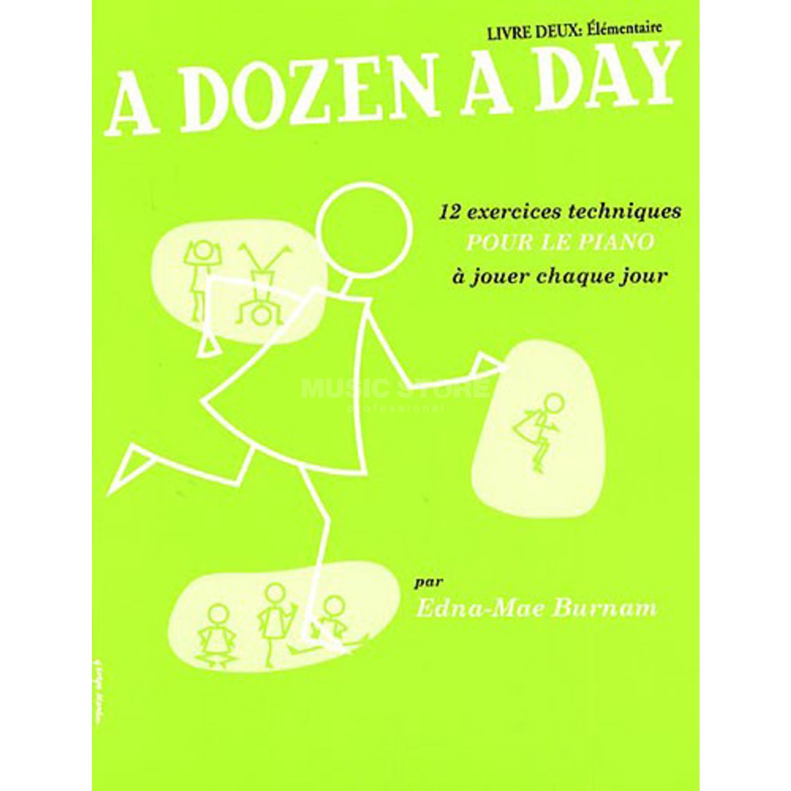Editions Musicales Francaises A Dozen A Day: Livre 2 Elementaire, French, Piano Produktbillede
