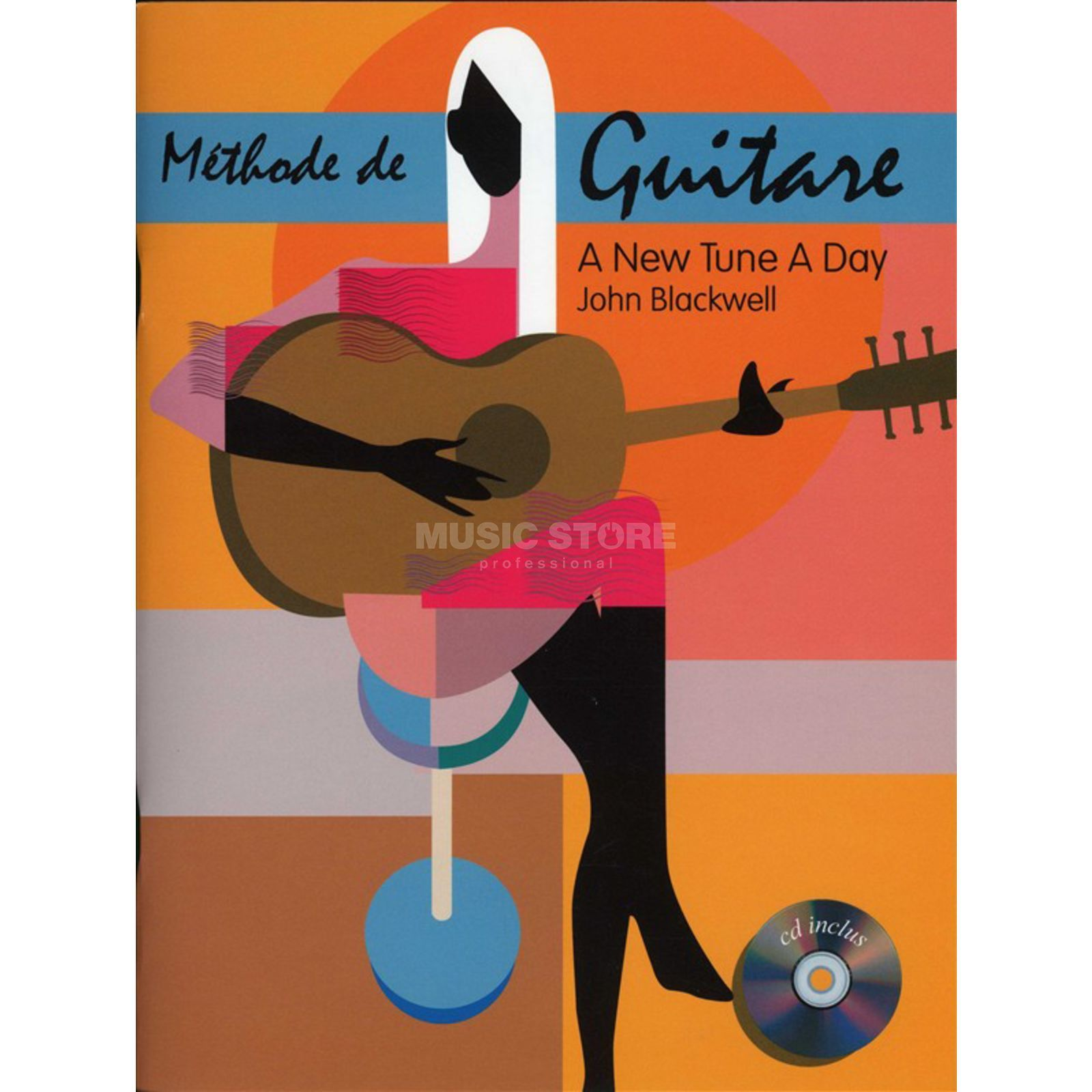 Editions Musicales Francaises A New Tune A Day: Guitare Methode De Guitare Produktbillede