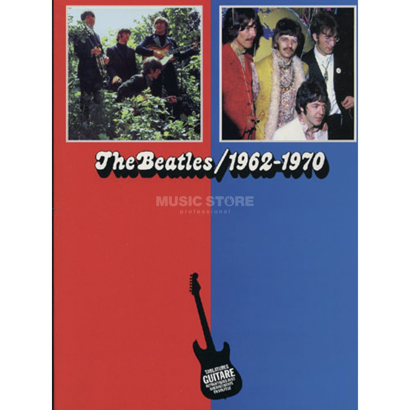 Editions Musicales Francaises The Beatles - 1962-1970 TAB Produktbillede