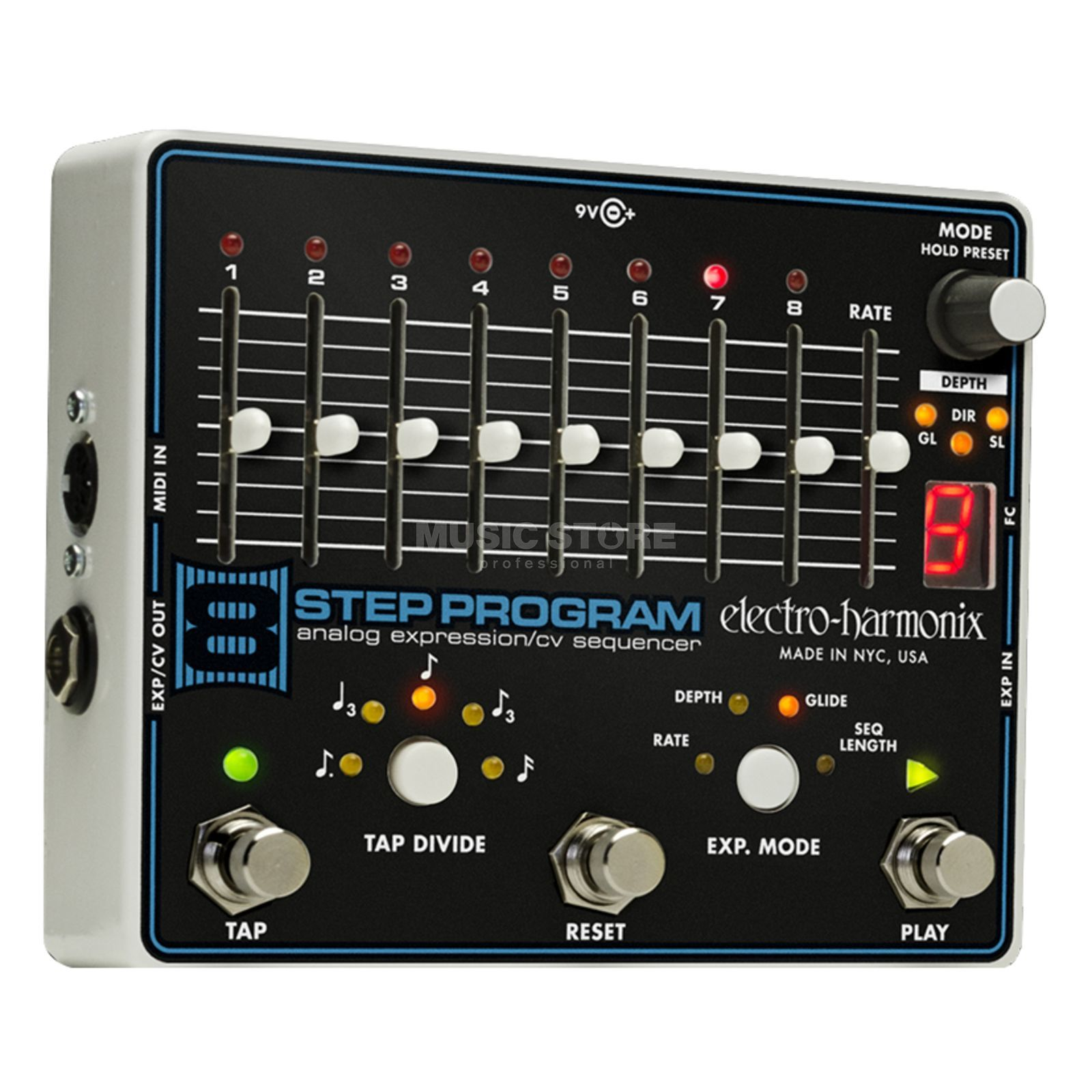 Electro Harmonix 8-Step Program Analog Expression CV Sequencer Produktbillede