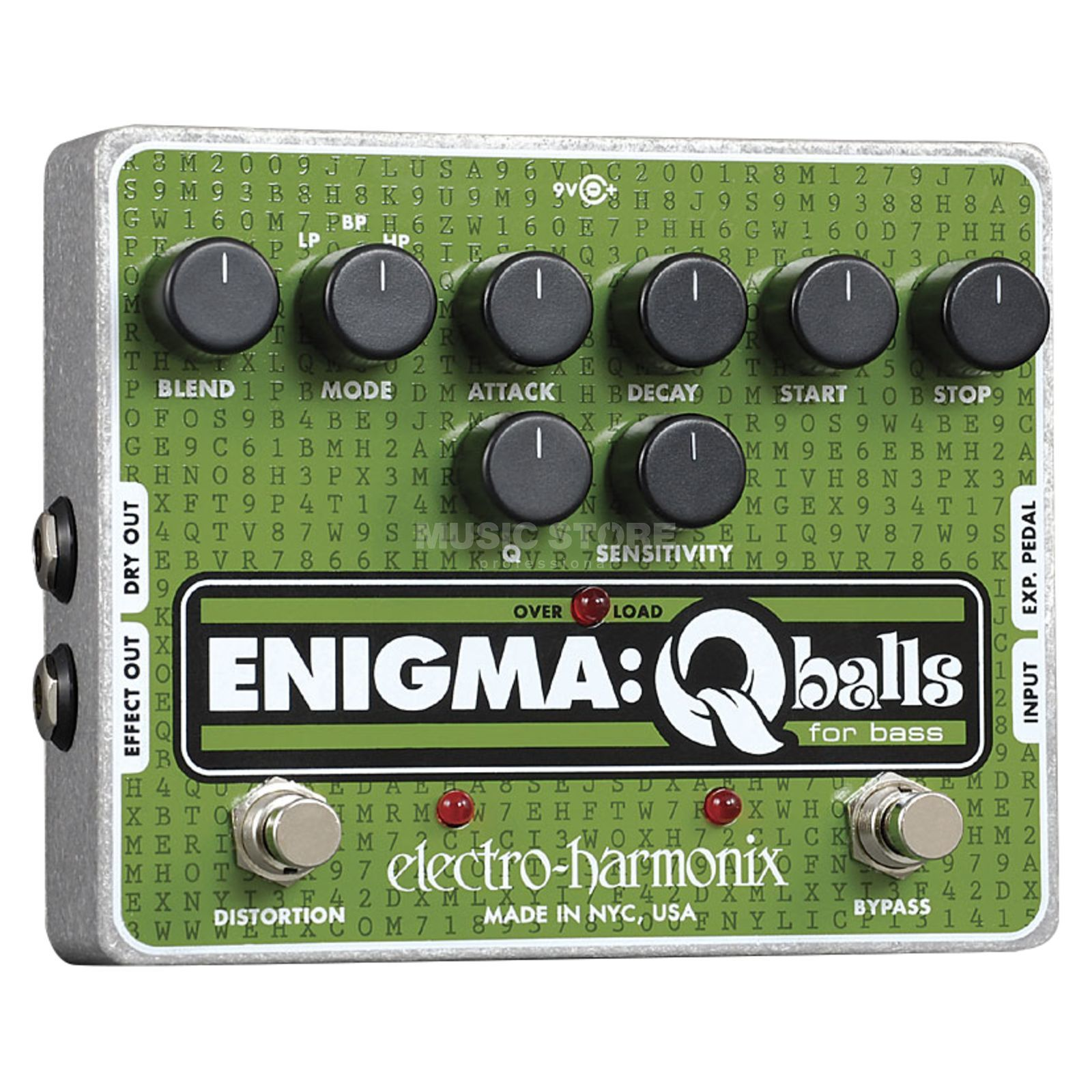 Electro Harmonix Enigma Q balls for Bass Guitar Изображение товара