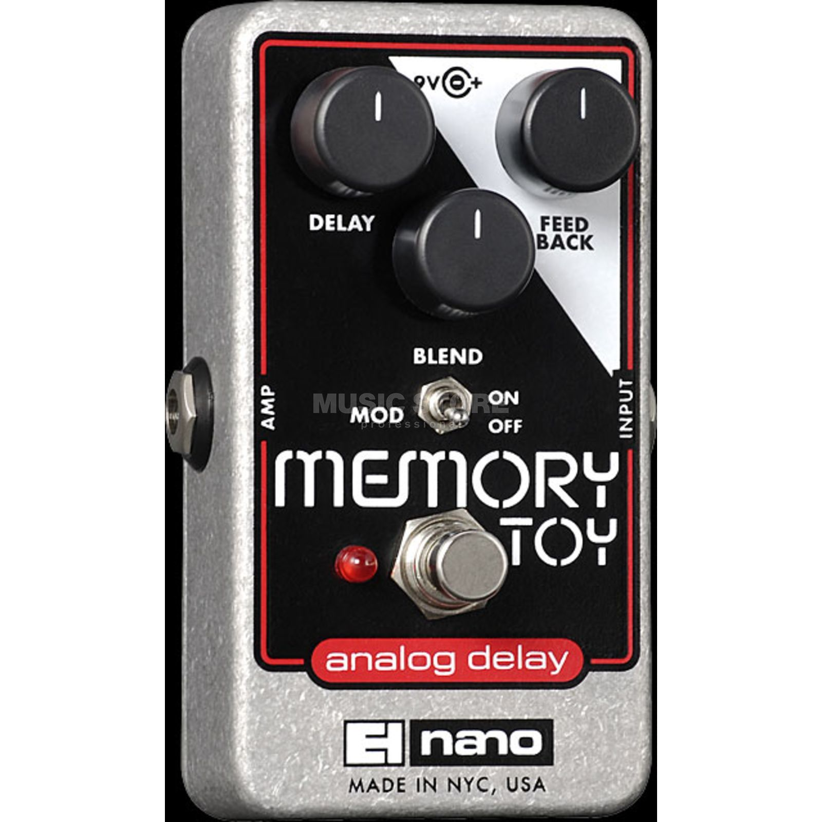 Electro Harmonix Memory Toy Analogue Delay Guit ar Effects Pedal   Produktbillede