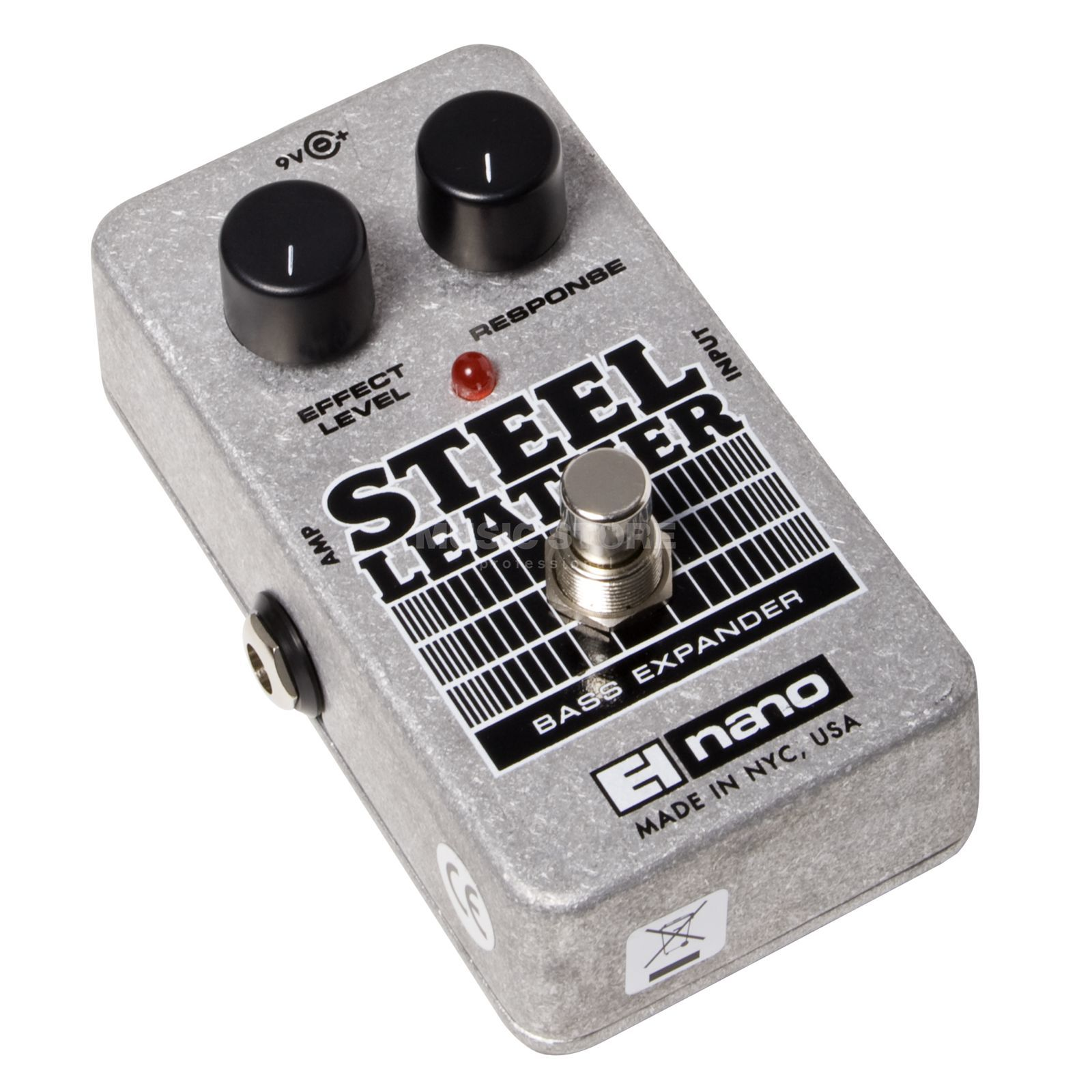 Electro Harmonix Steel Leather Bass Guitar Effe cts Pedal   Изображение товара