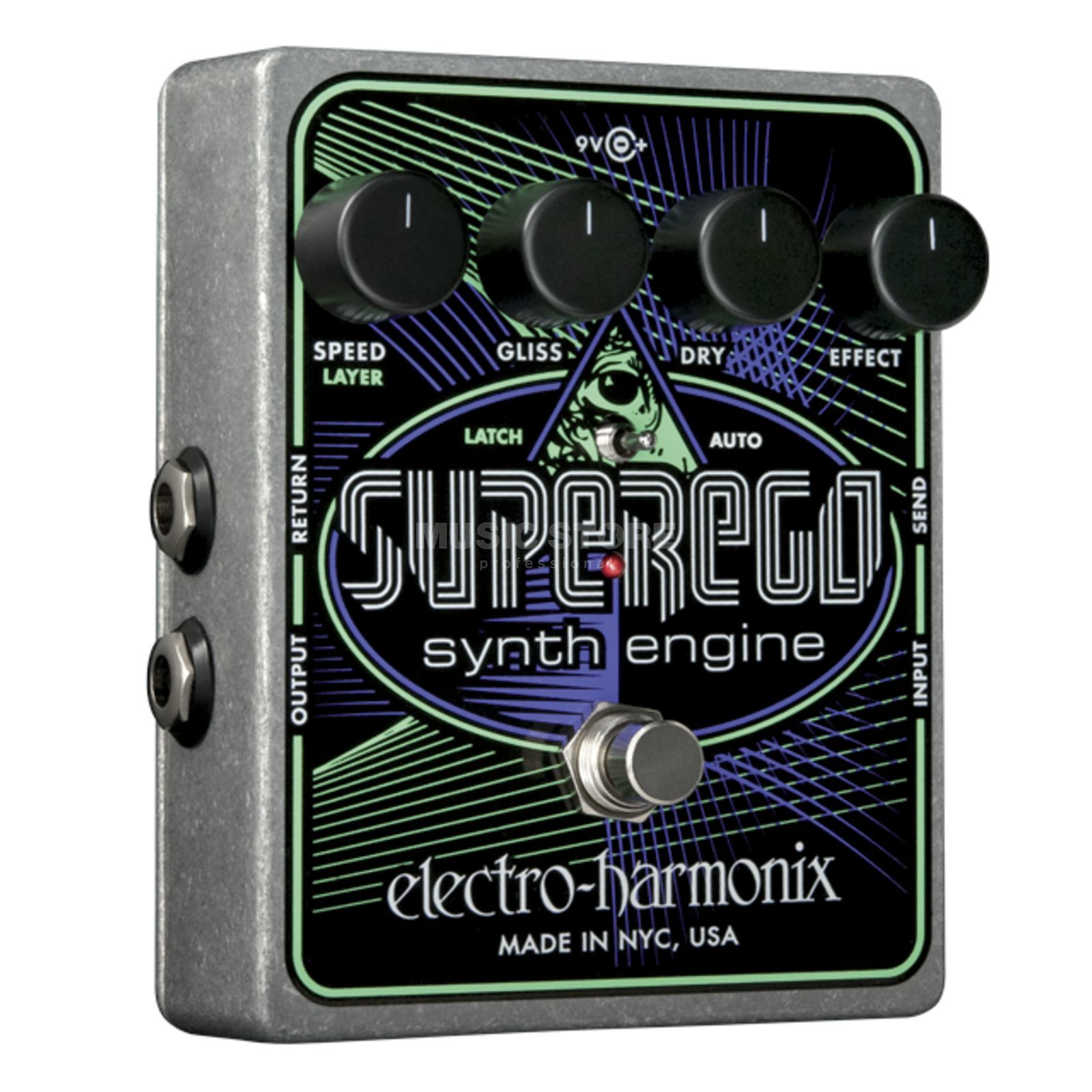 Electro Harmonix SuperEgo Synth Guitar Effects  Pedal   Produktbillede