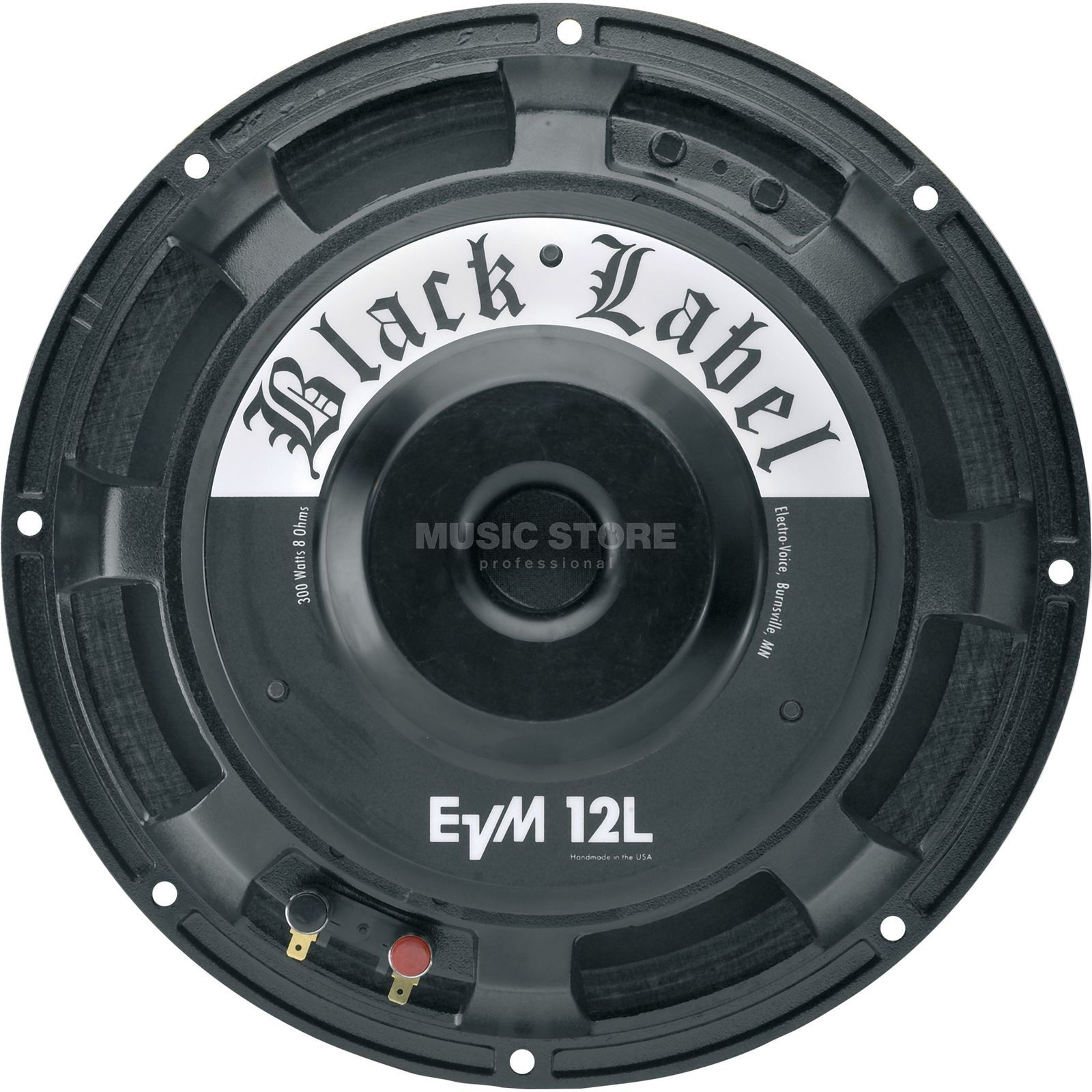 Electro Voice EVM 12 L Speaker Black Label 8 Ohm Produktbillede