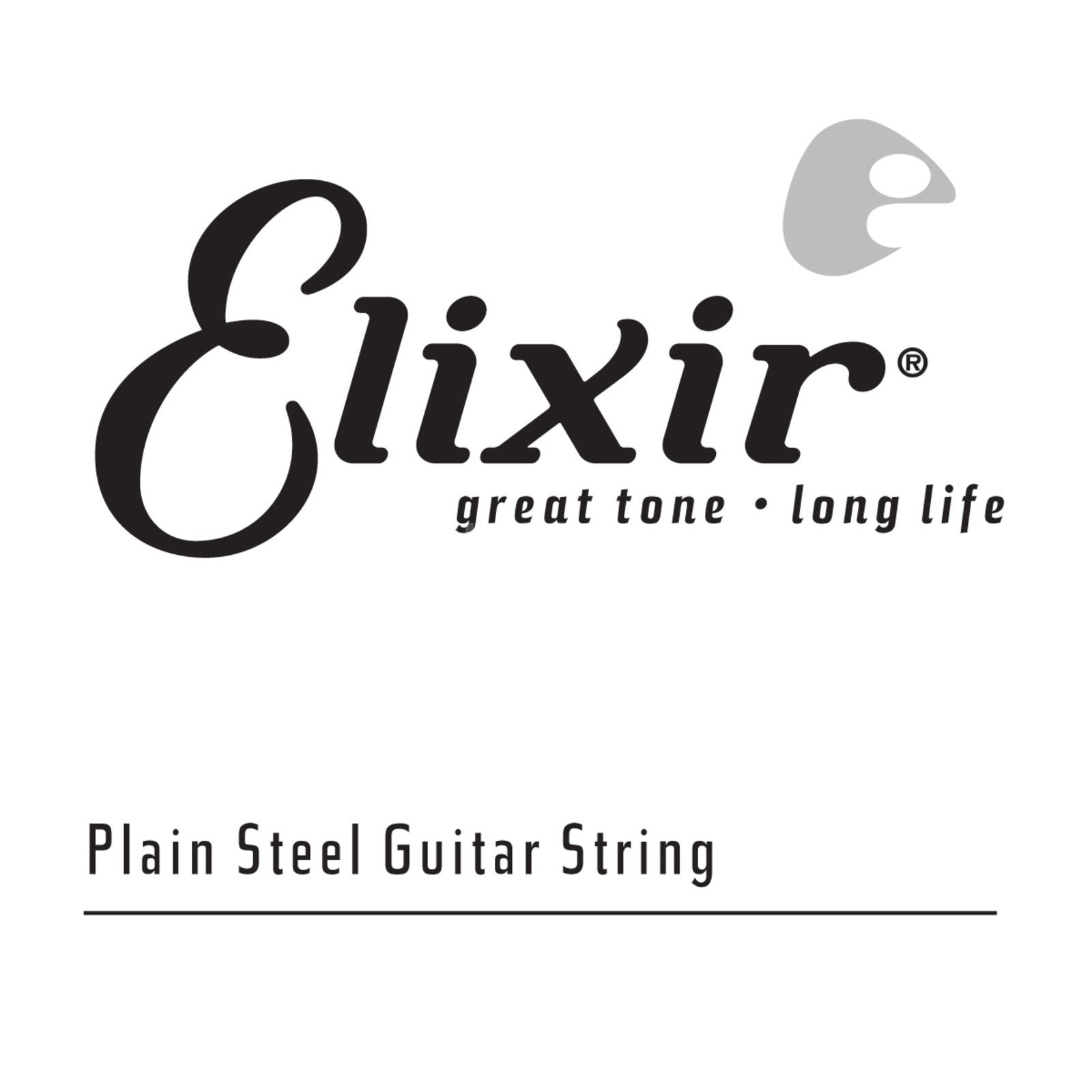 Elixir 13017 Single String 017 Plain  Produktbillede