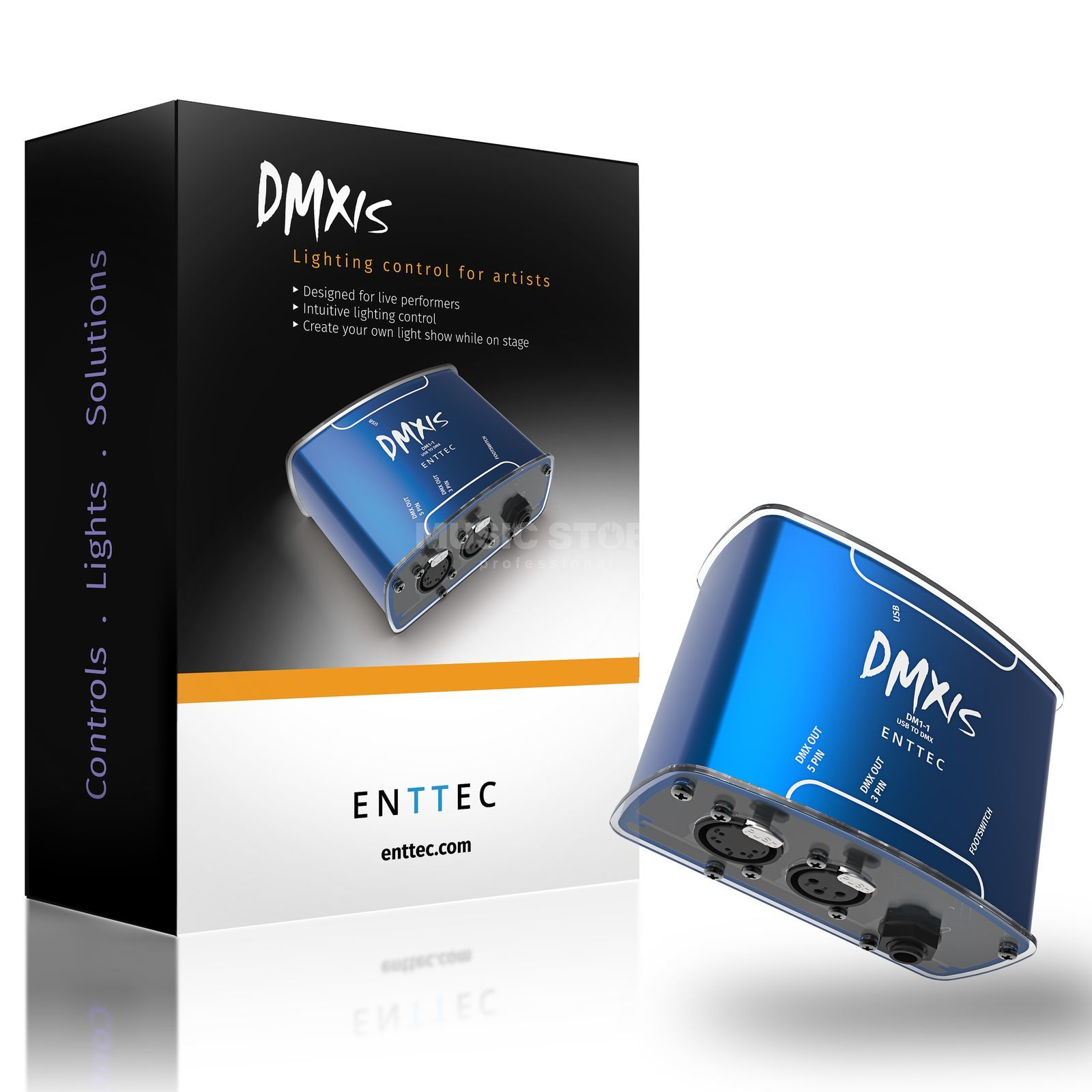 Enttec DMXIS lighting control package Product Image