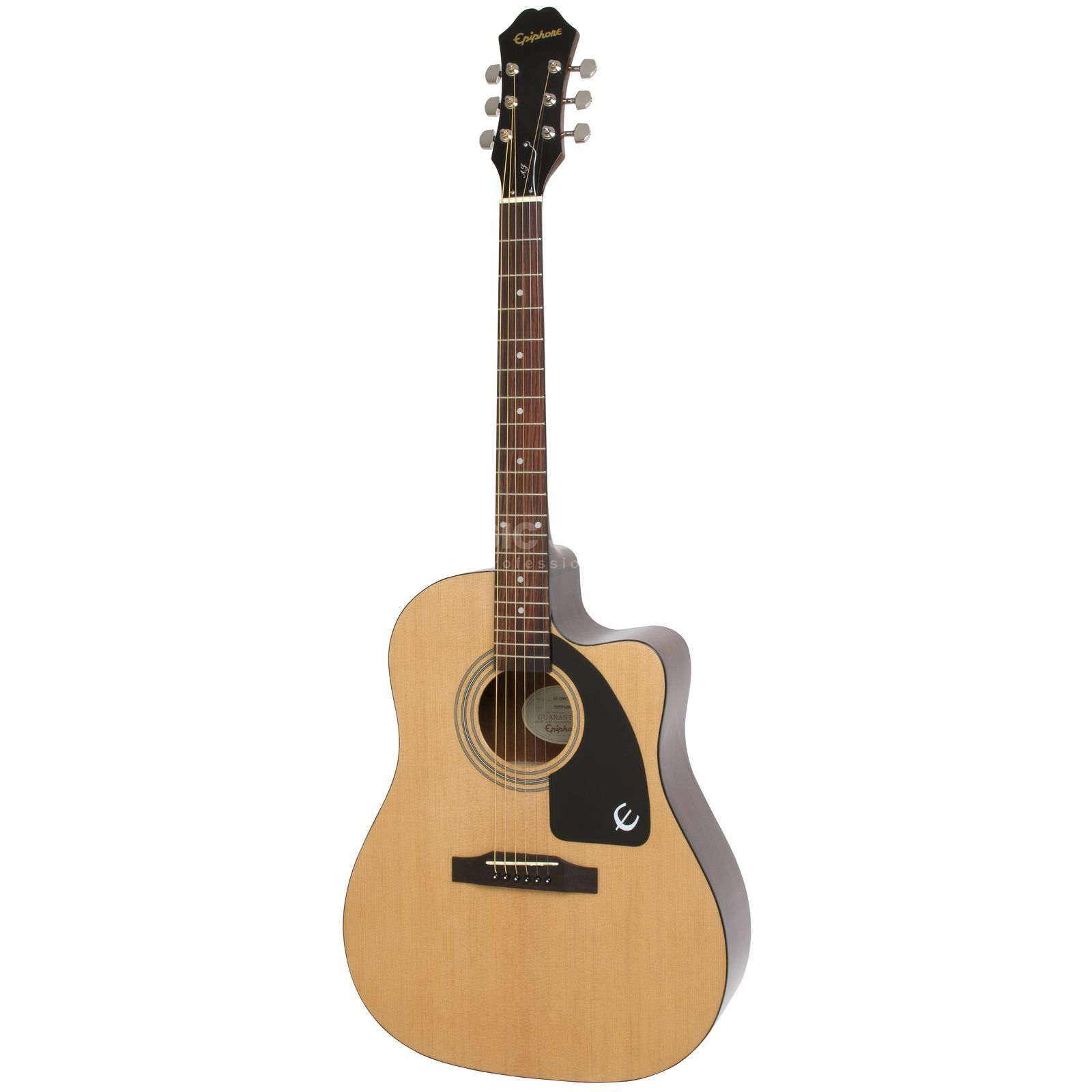 Epiphone AJ-100CE Advanced Jumbo Natural Produktbild