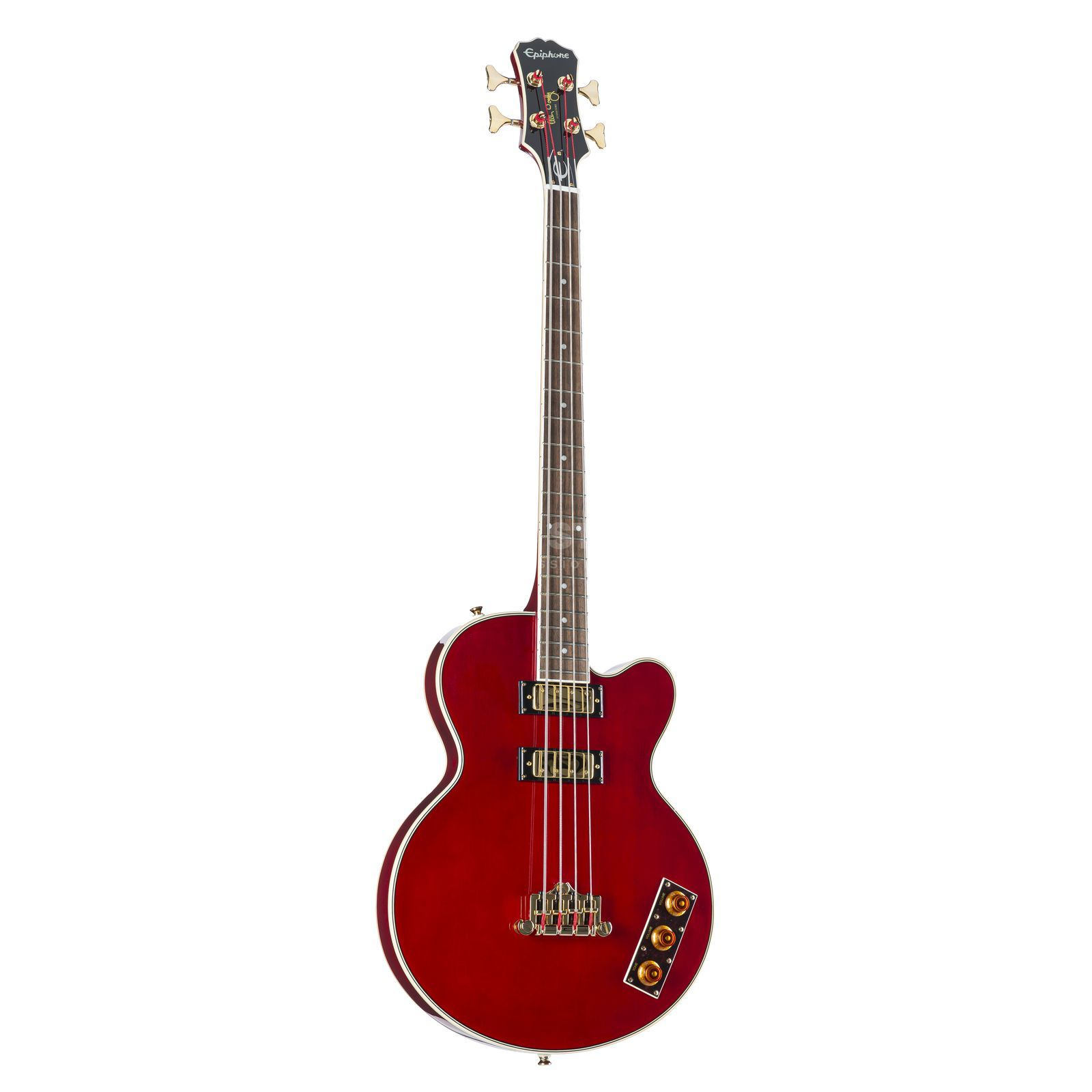 Epiphone Allen Woody Rumblekat Bass WR Wine Red Product Image