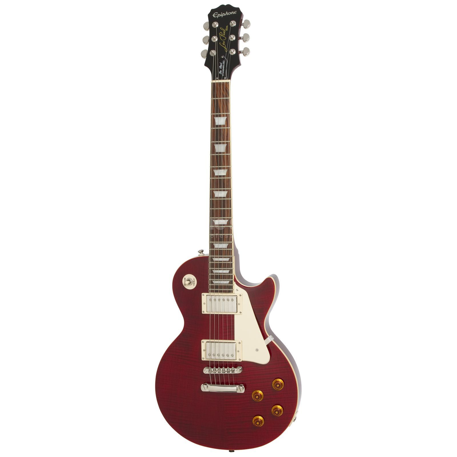 Epiphone Les Paul Standard Plus PRO WR Wine Red Produktbild