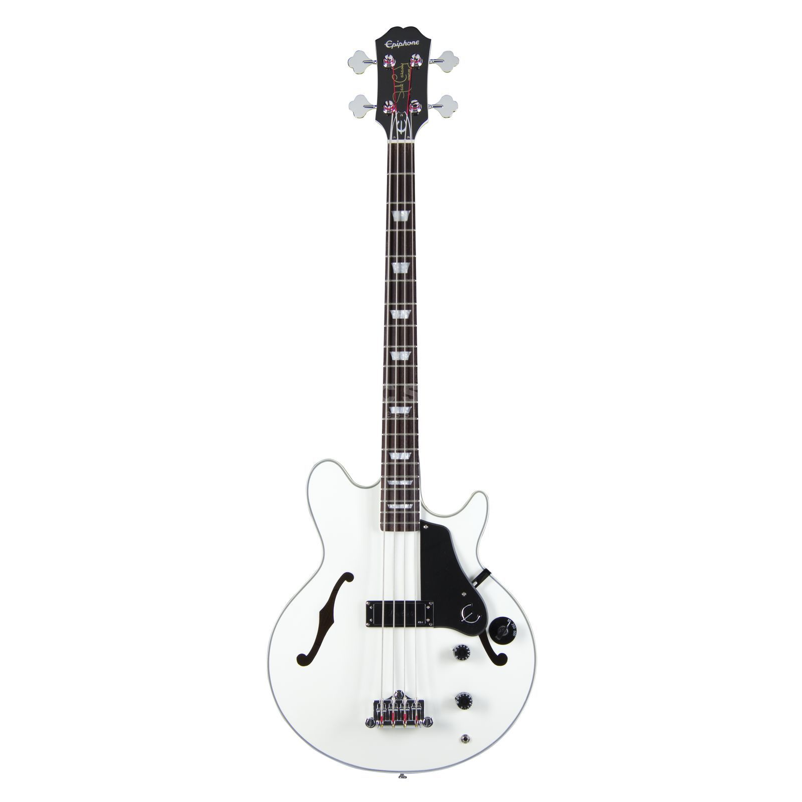 Epiphone Limited Edition Jack Casady Signature Bass Alpine White Productafbeelding