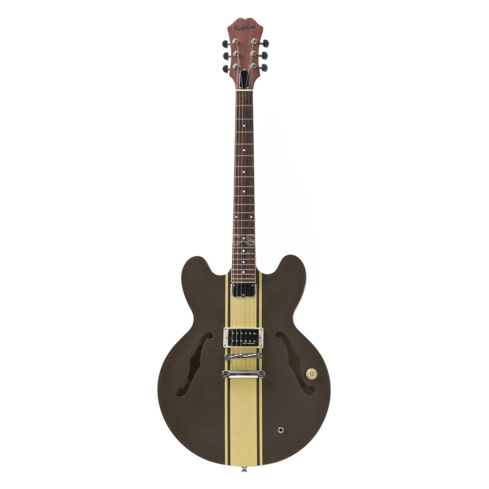 Epiphone Tom DeLonge ES-333 Signature S emi Acoustic Guitar, Brown Produktbillede