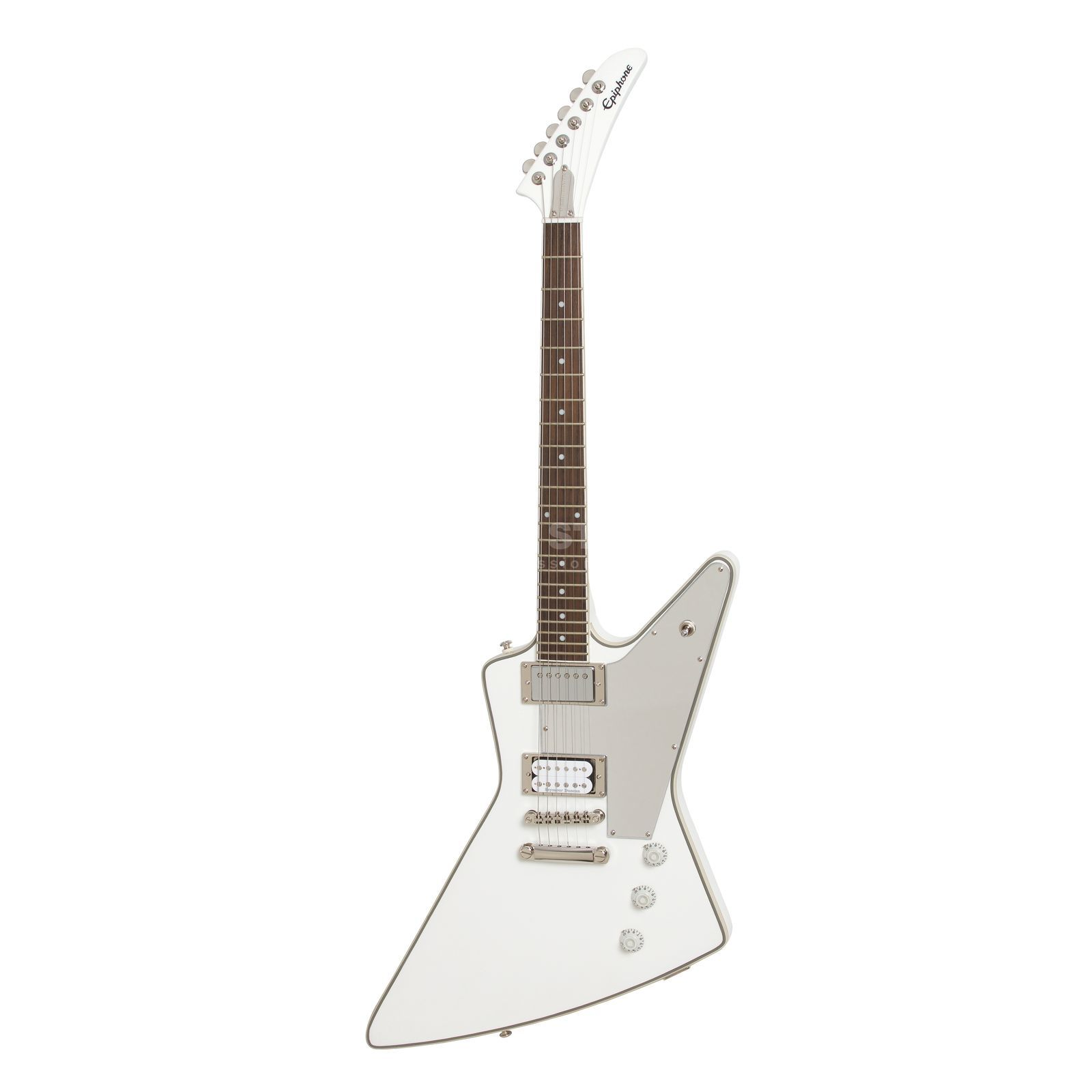 Epiphone Tommy Thayer White Lightning Explorer Outfit Produktbild