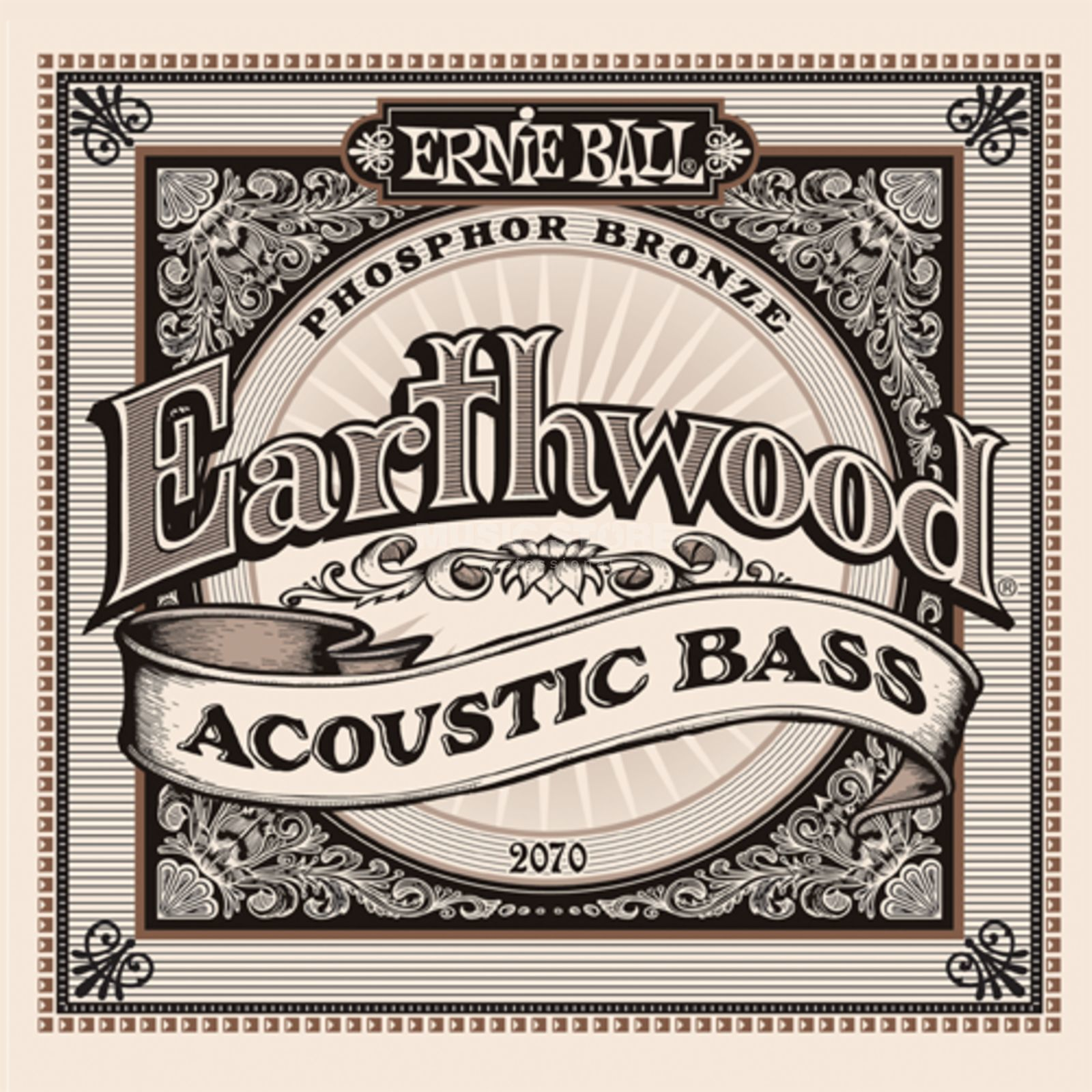 Ernie Ball A-Bass Strings,4er,45-95 Earthwood Phosphor Bronze Immagine prodotto