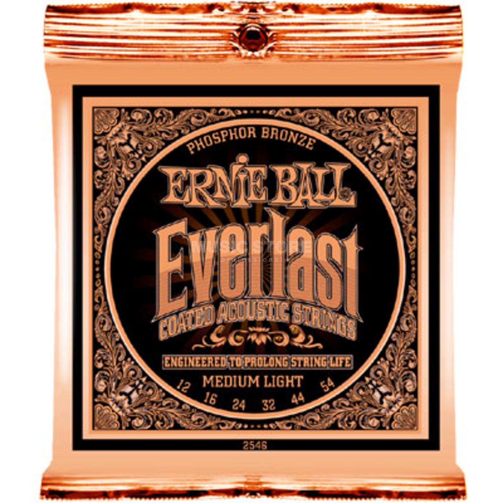 Ernie Ball A-Guit. Strings 12-54 Everlast Phosphor Bronze, EB2546 Produktbillede
