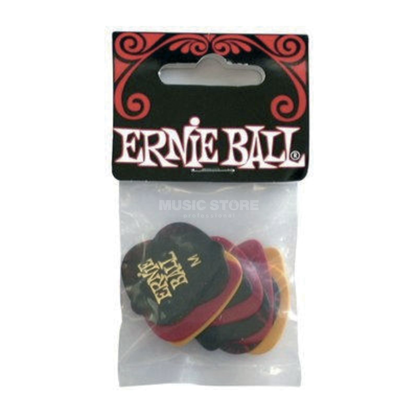 Ernie Ball Celluloid Picks 0,72 mm Box of 12 Produktbillede