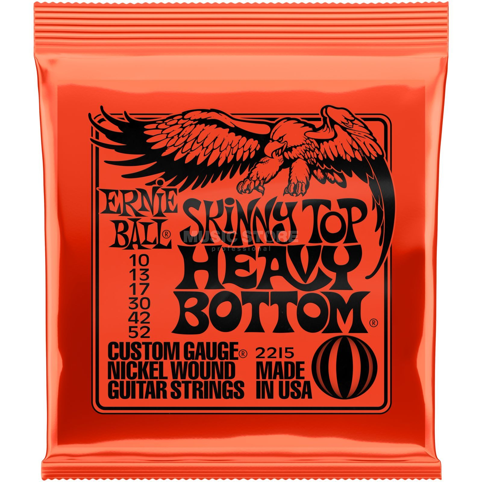 Ernie Ball E-Guit.String 10-52 Skinny Top Heavy Bottom Nickel Wound 2215 Produktbillede