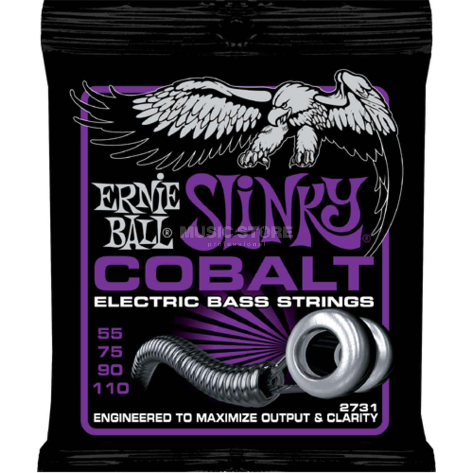 Ernie Ball EB2731 55-110 Cobalt Power Slinky Product Image