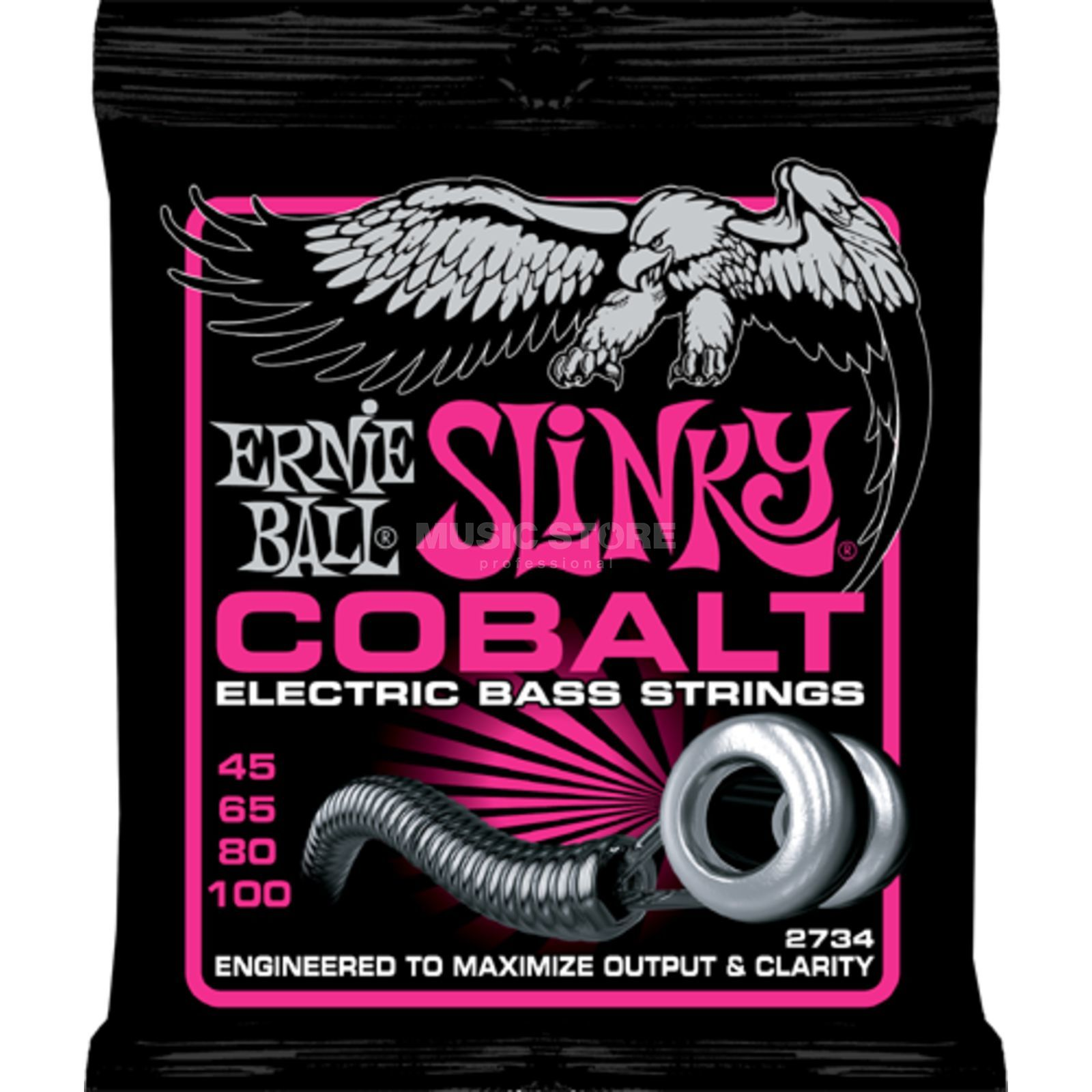 Ernie Ball EB2734 45-100 Cobalt Super Slinky Product Image
