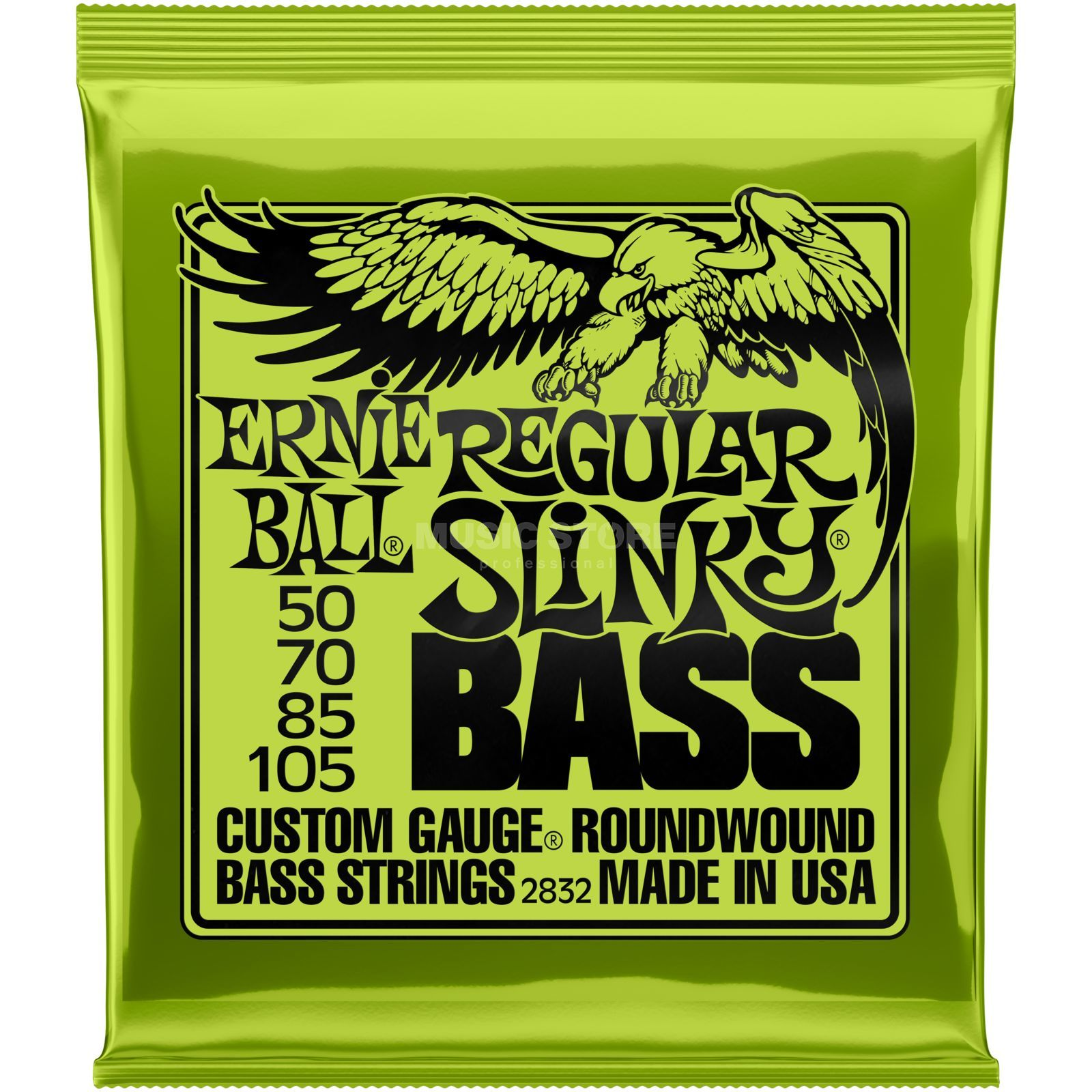 Ernie Ball EB2832 50-105 Regular Slinky nikkel Plated Productafbeelding