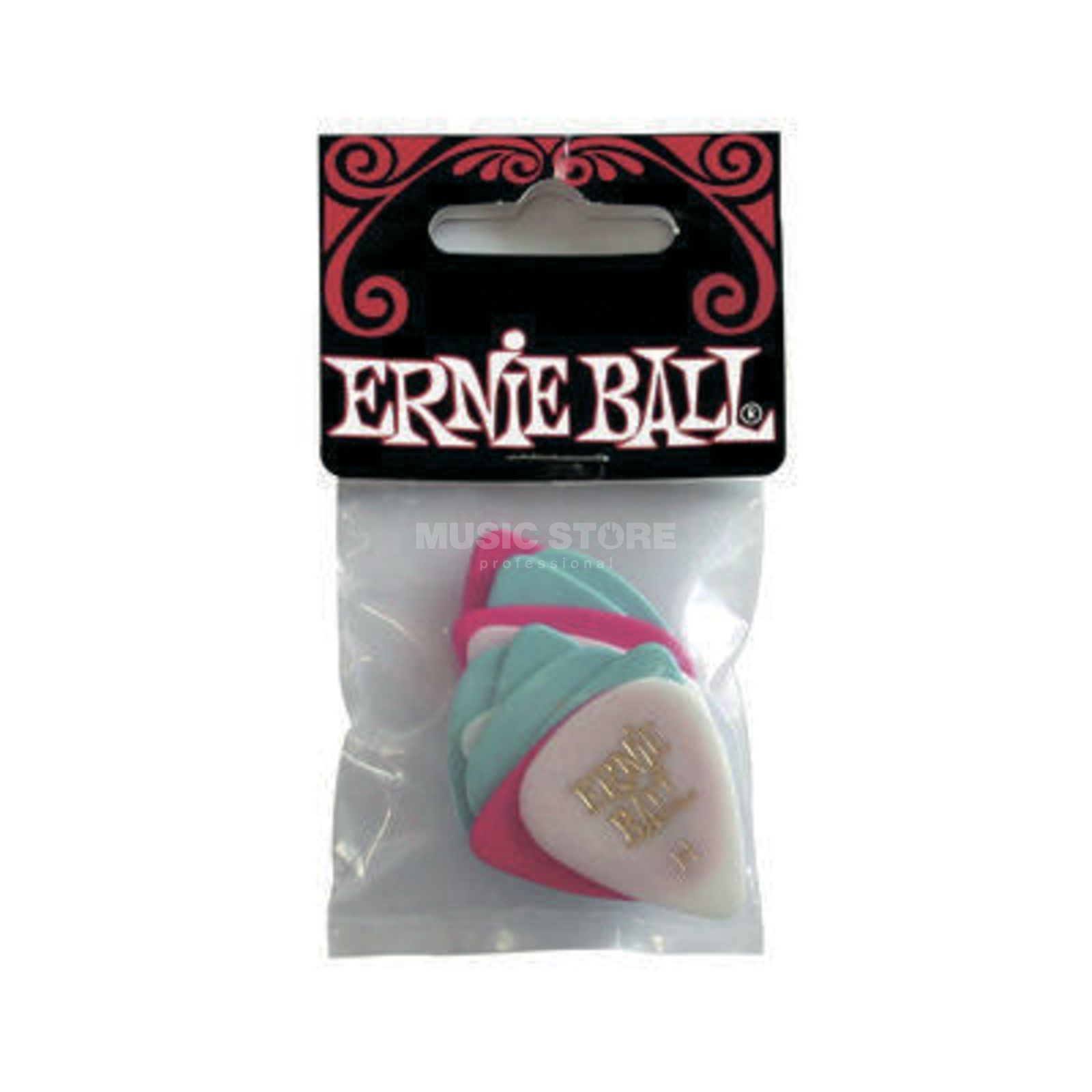 Ernie Ball EB9180 Celluloid Picks 0,94 mm 12er Set Produktbild