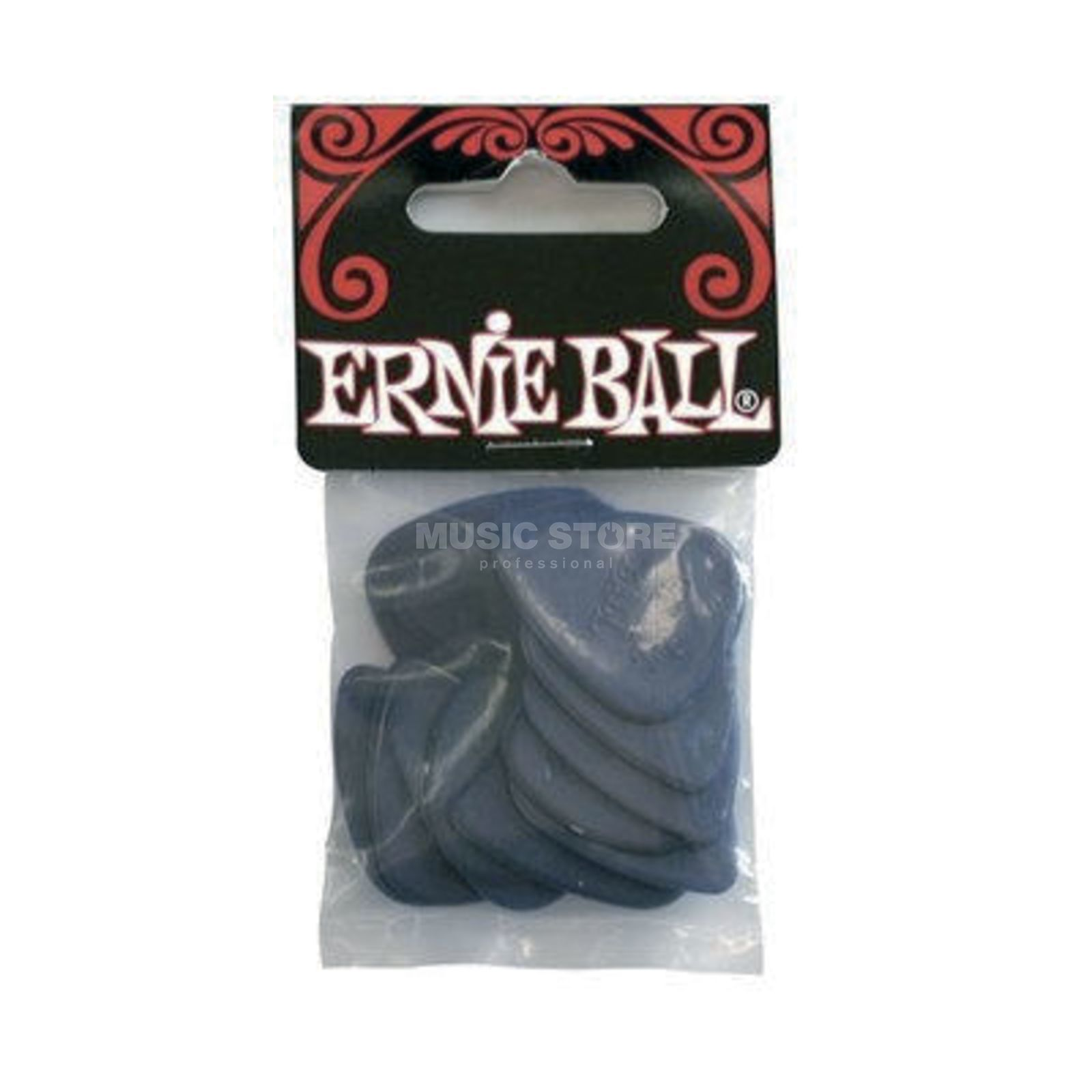 Ernie Ball Medium Nylon Picks 0,72 mm Box of 12 Produktbillede