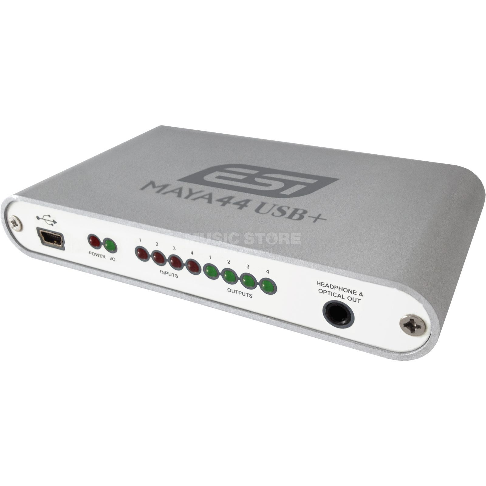 ESI Maya 44 USB  24-bit 44.1/48kHz  4X4 USB Audio Interface   Produktbillede