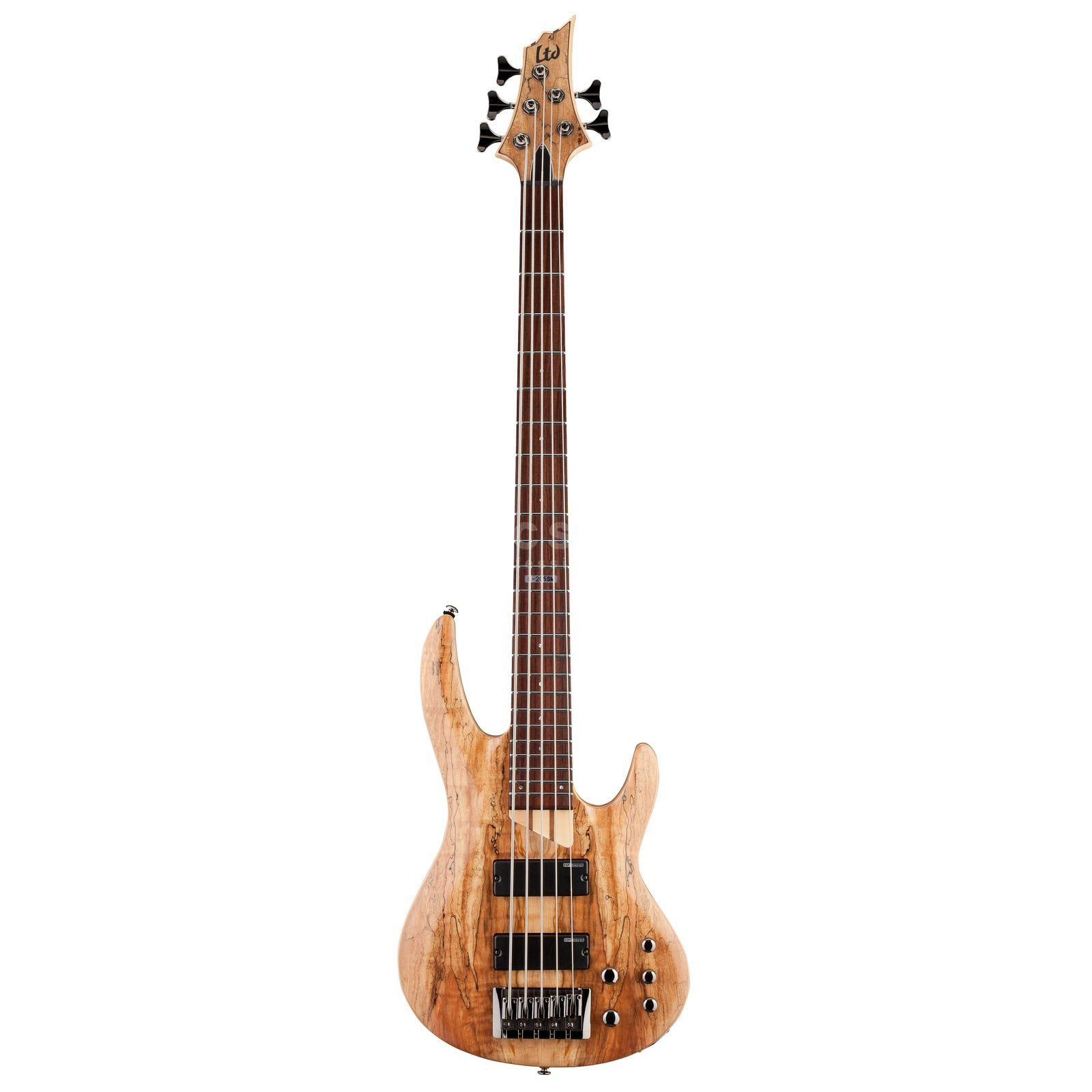 ESP LTD B-205SM Bass Guitar, Natur al Satin   Product Image