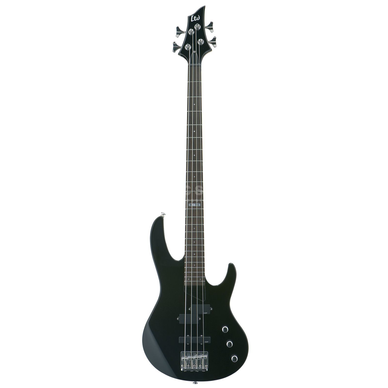 ESP LTD B-50 Bass Guitar, Black    Product Image