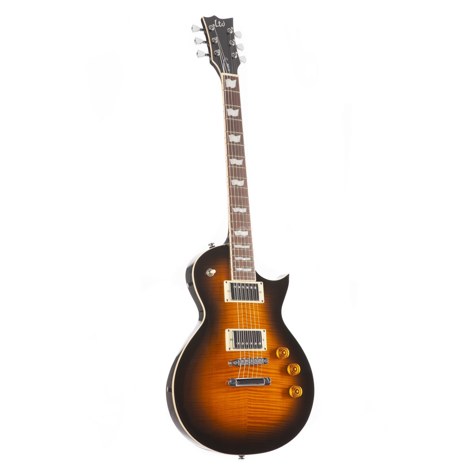 ESP LTD EC-256 FM DBSB Dark Brown Sunburst Product Image