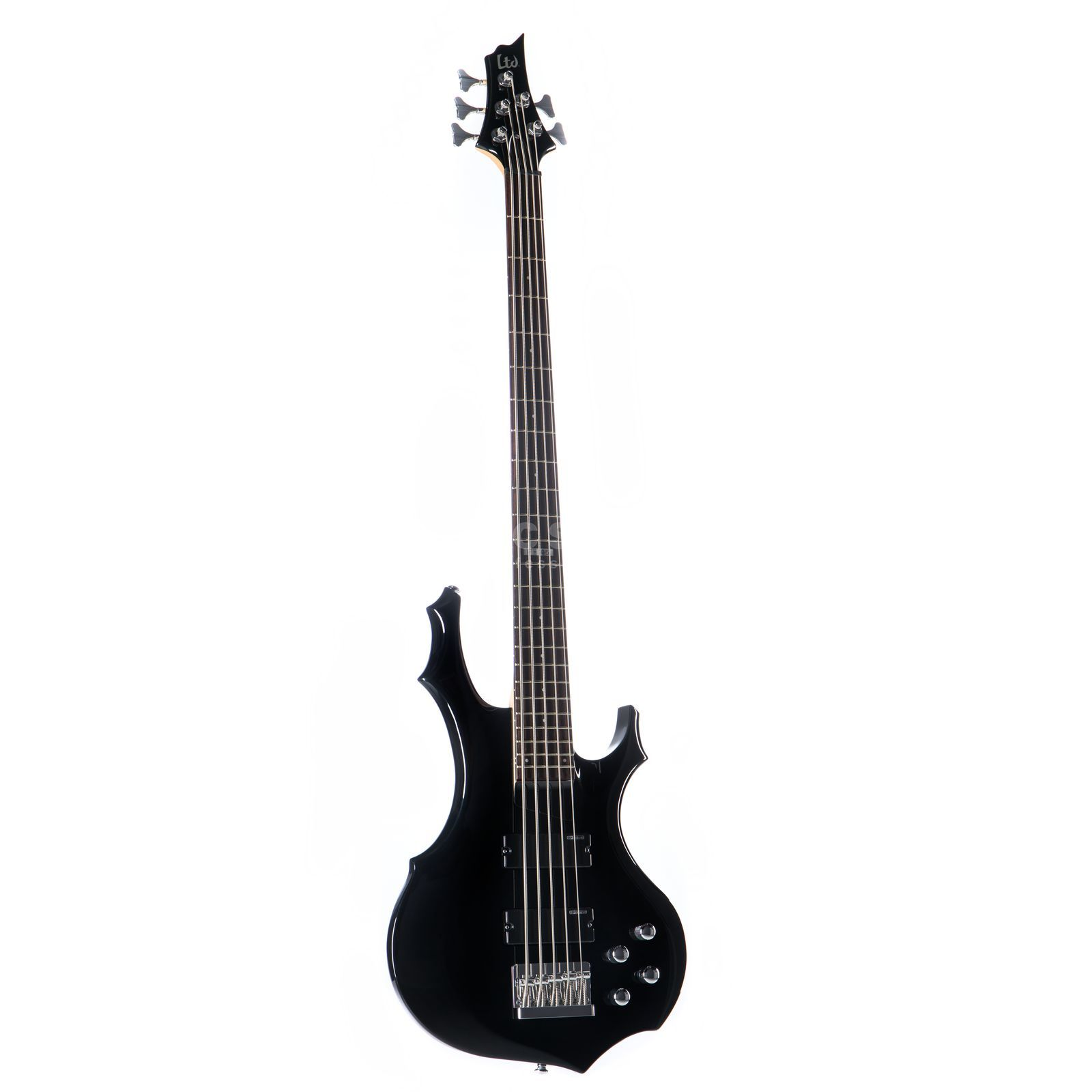 ESP LTD F-105 Bass Guitar, Black    Изображение товара