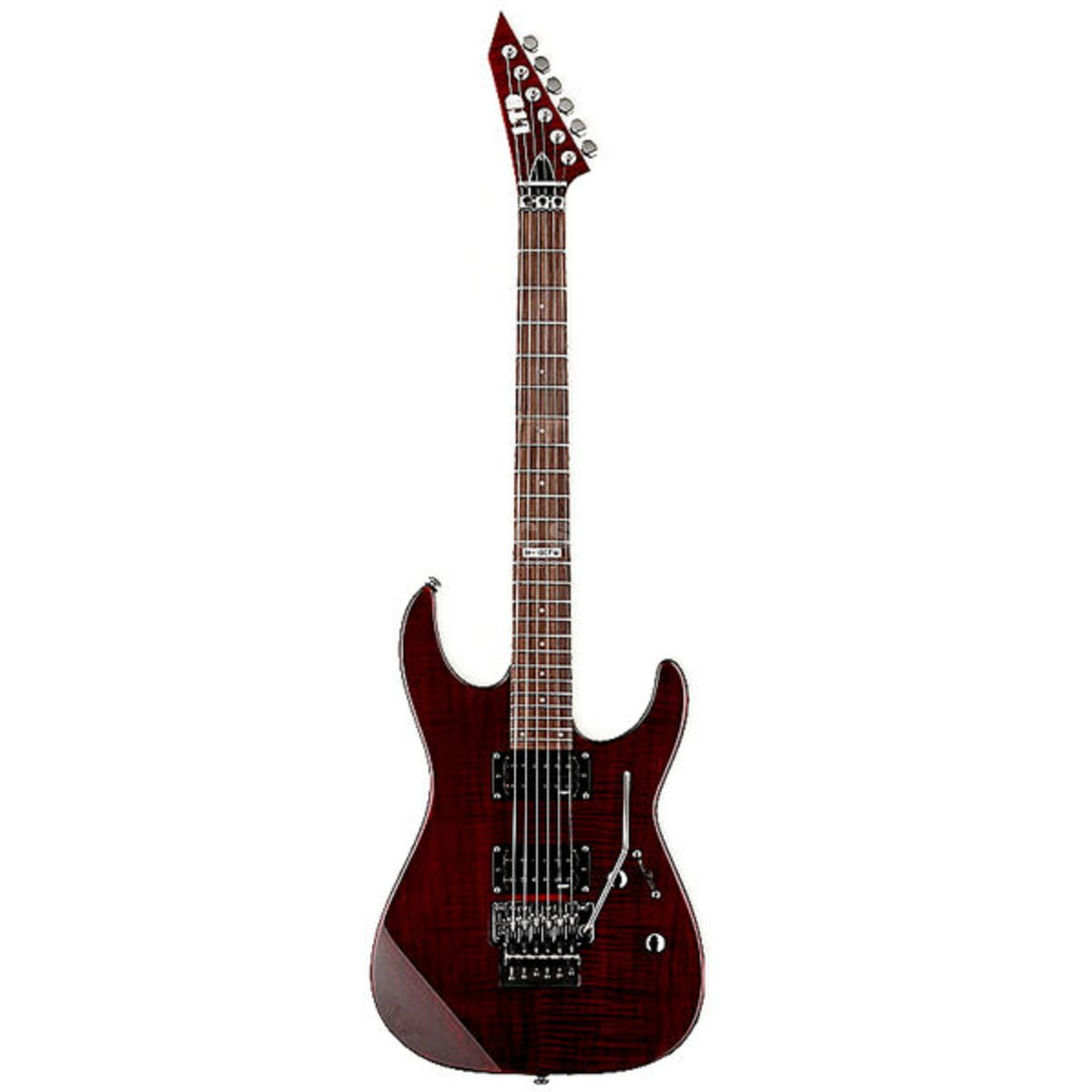 ESP LTD M-100FM Electric Guitar, S ee Thru Black Cherryá   Produktbillede