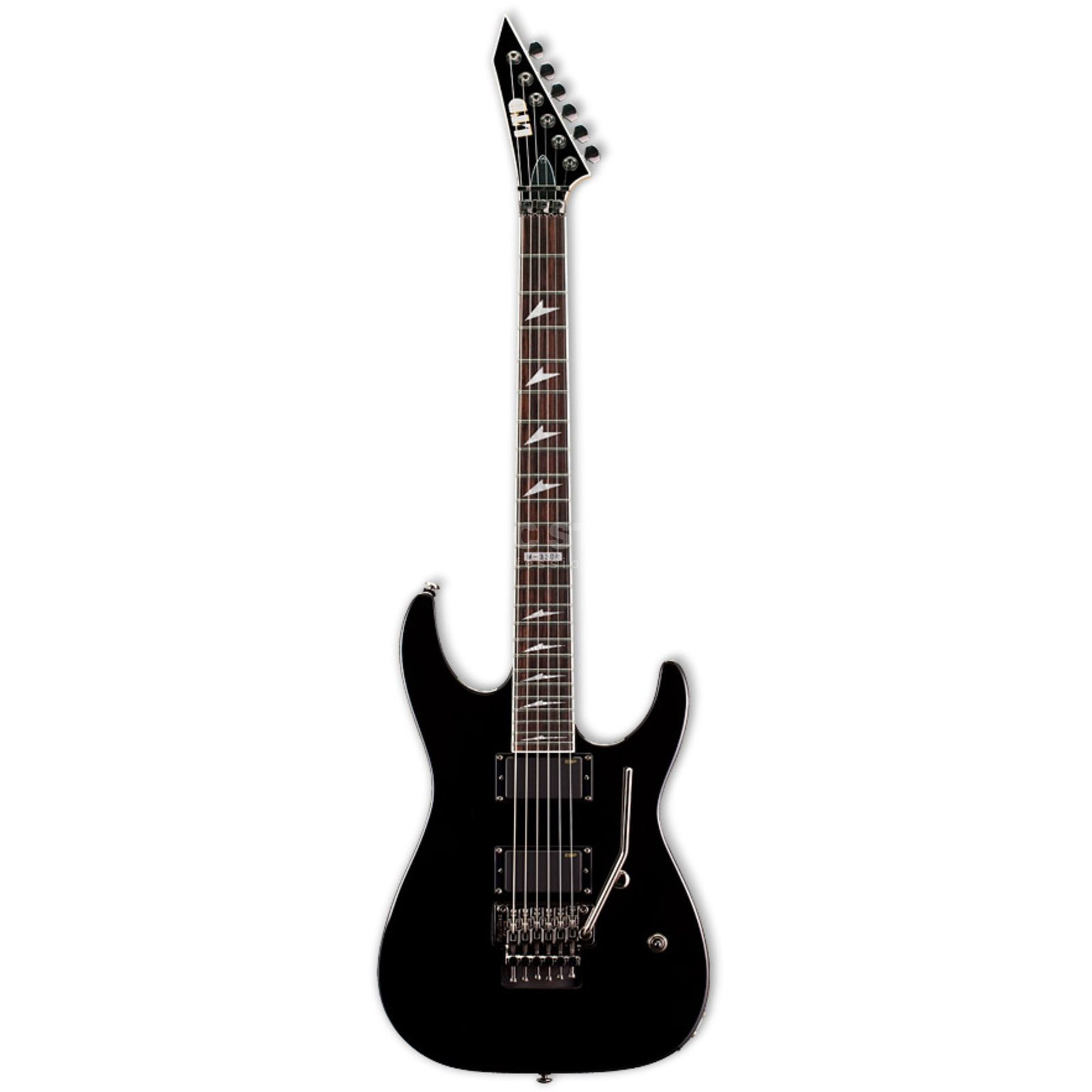 ESP LTD M-330R Electric Guitar, Bl ack   Produktbillede