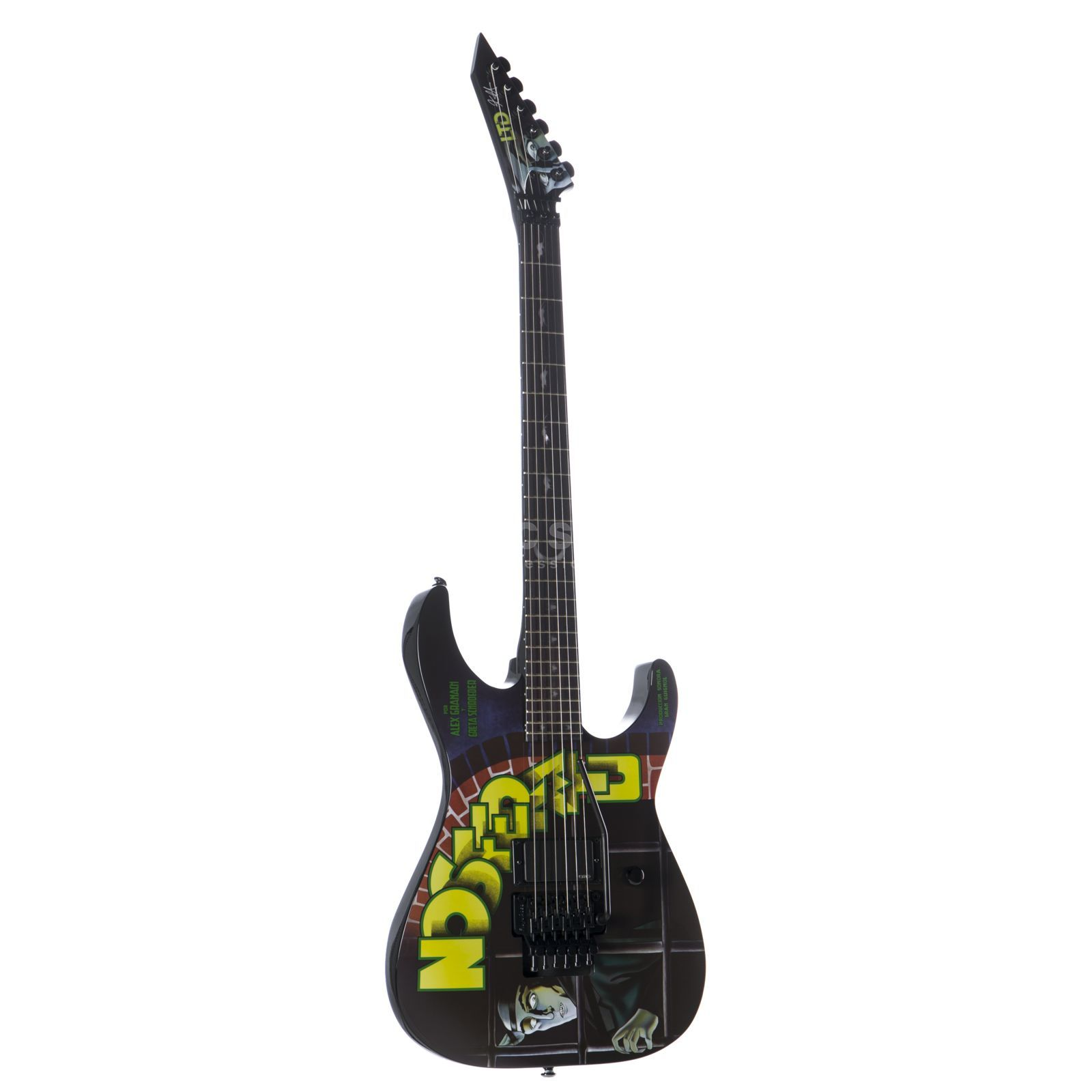 ESP LTD Nosferatu Kirk Hammett Signature Limited Edition Product Image
