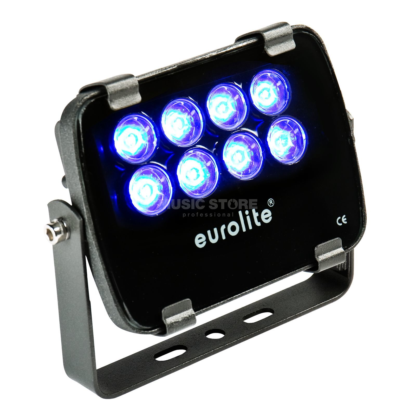 Eurolite LED IP FL-8 blau 30° IP 56, 8x1W Garden Light Produktbild