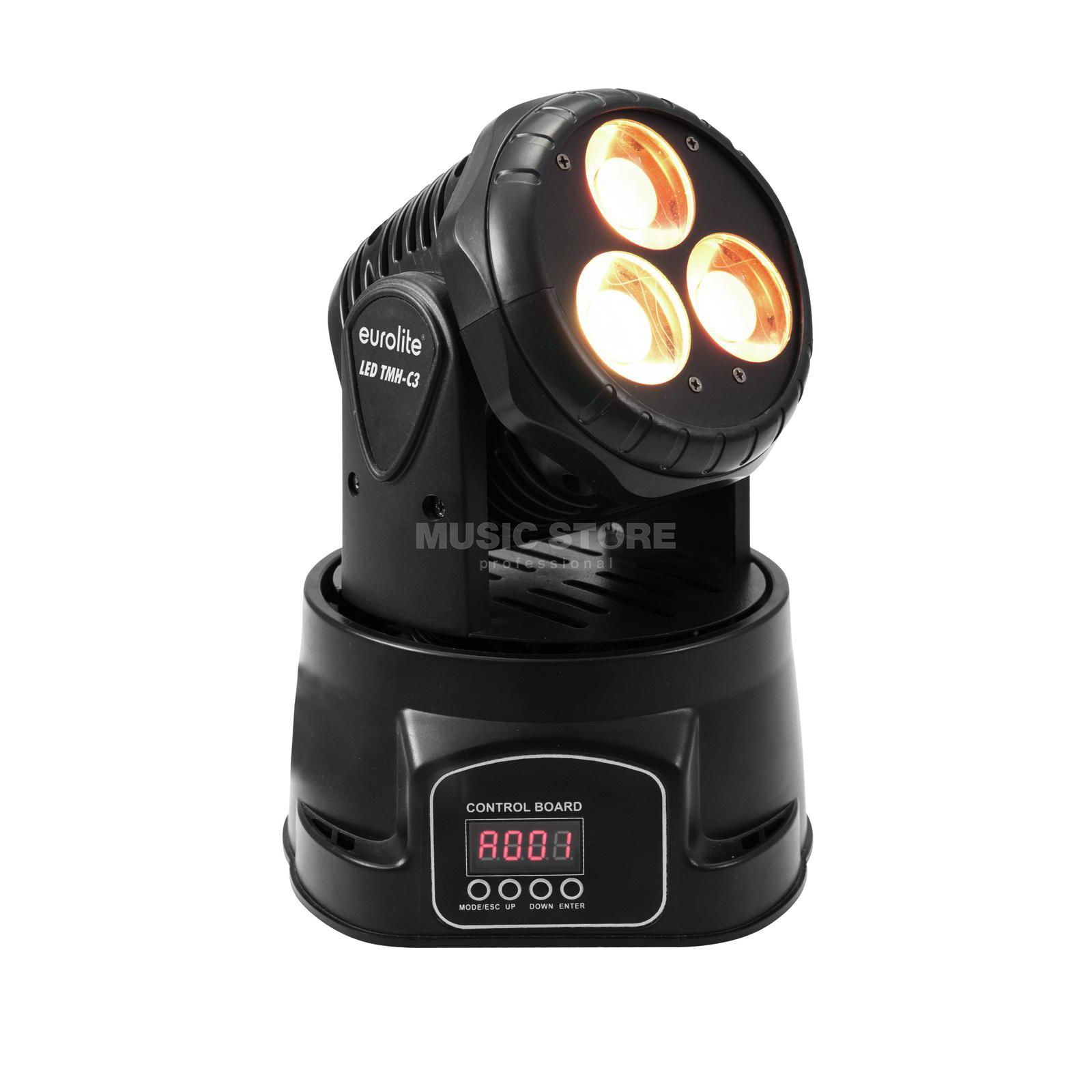 Eurolite LED TMH-C3 Moving-Head Wash 15-W-COB-LEDs Produktbillede